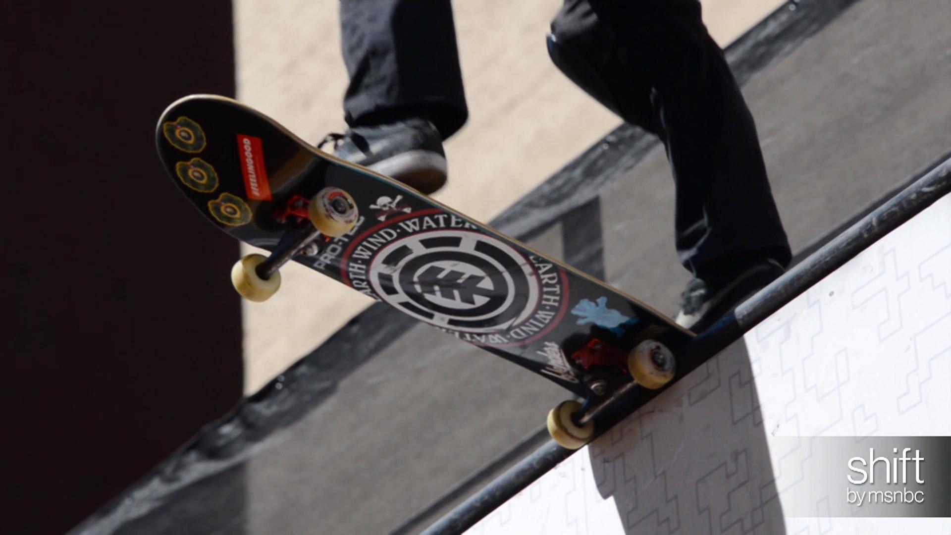"""Dew Tour pros, """"Why I Skateboard"""""""