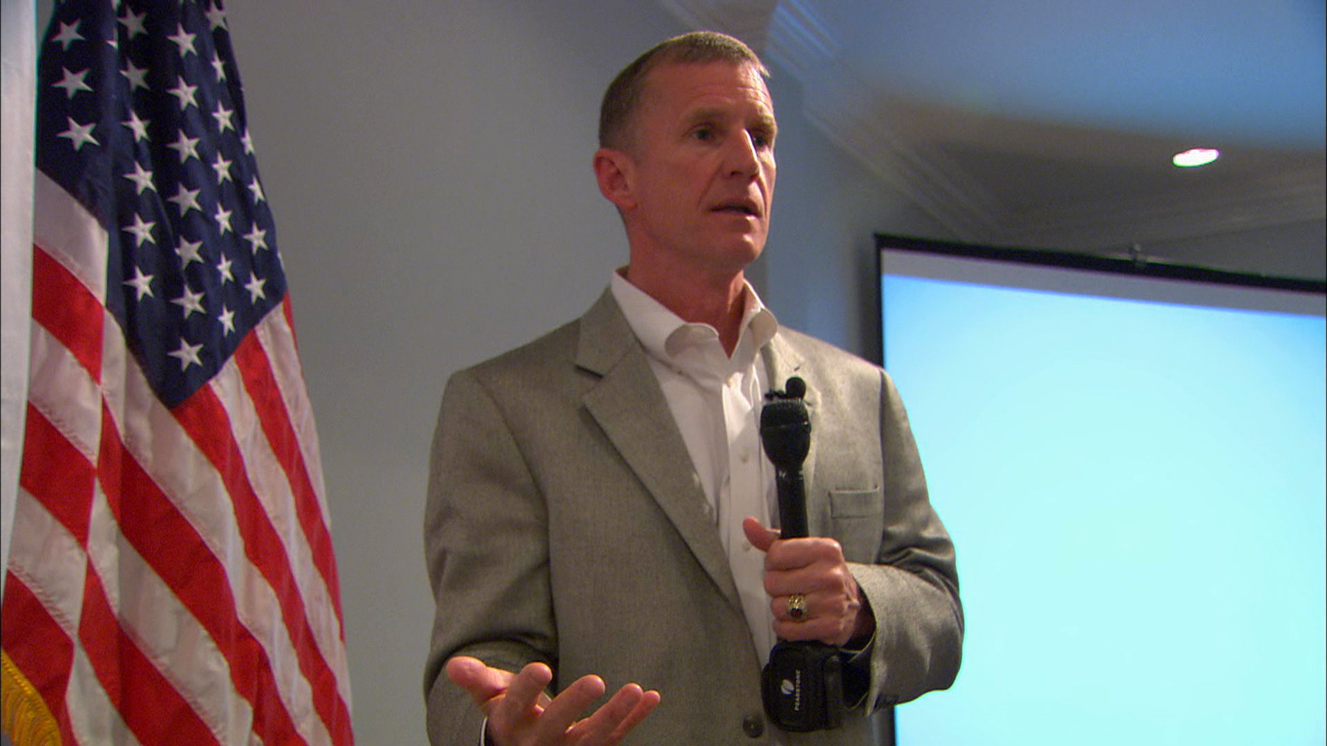 McChrystal answers 'soft power' question