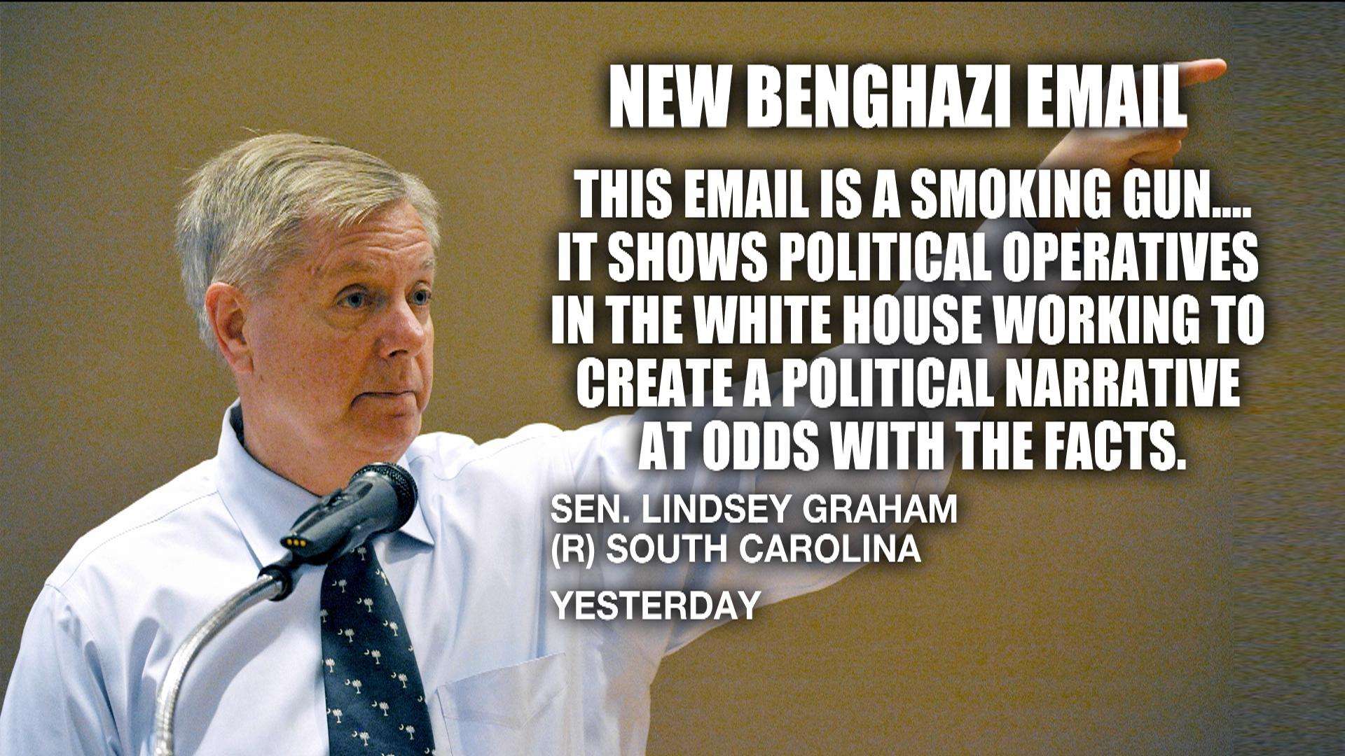 Graham: New Benghazi email is 'a smoking gun'