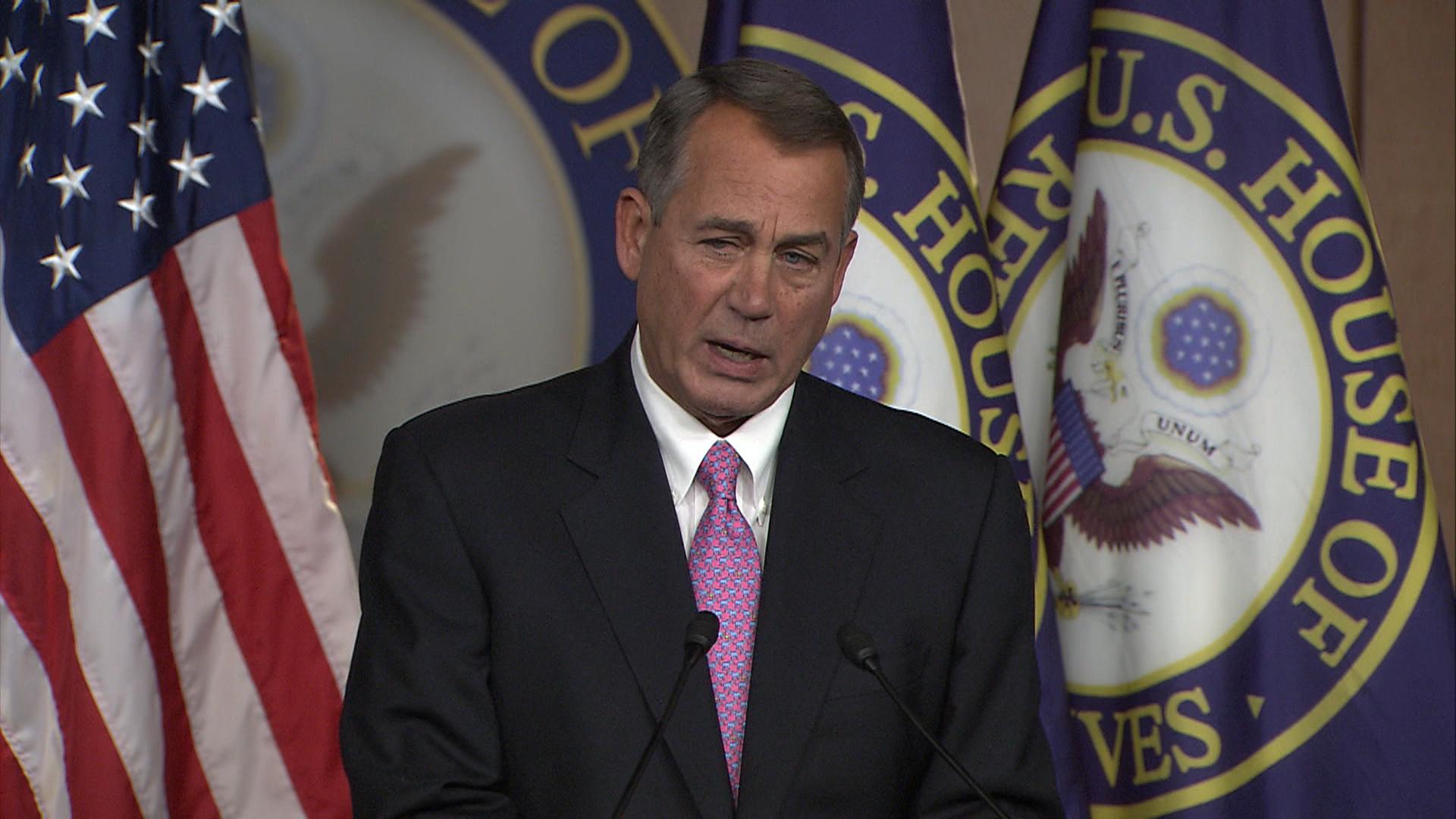 Boehner warns immigration reform is in danger