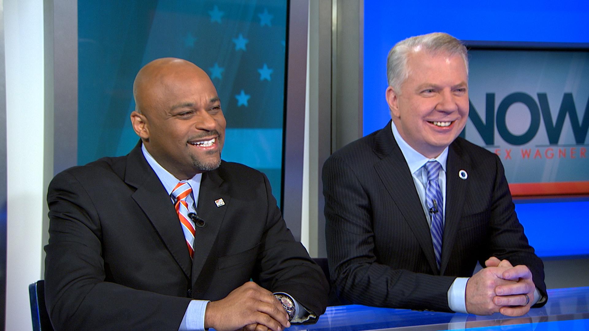 Super Bowl mayors talk progressive policy