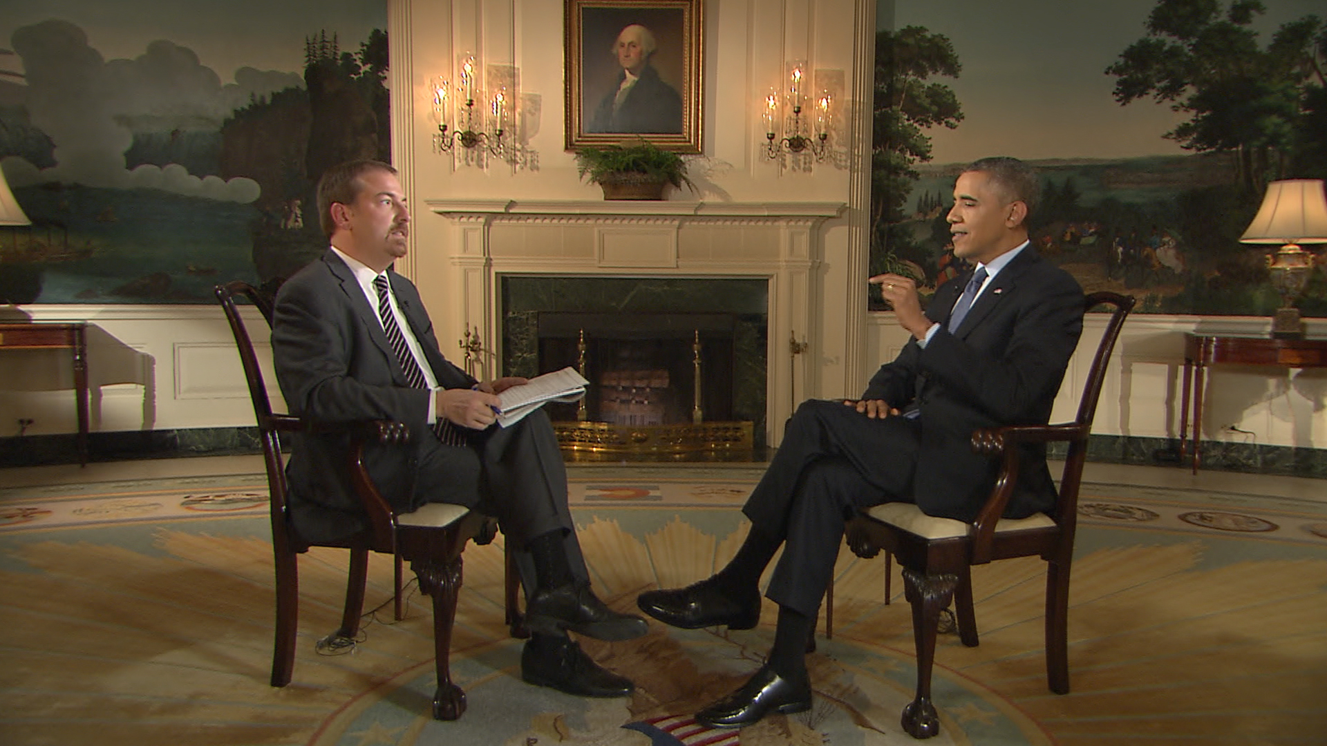 Watch Chuck Toddu0027s Full Interview With President Obama   Video On  NBCNews.com