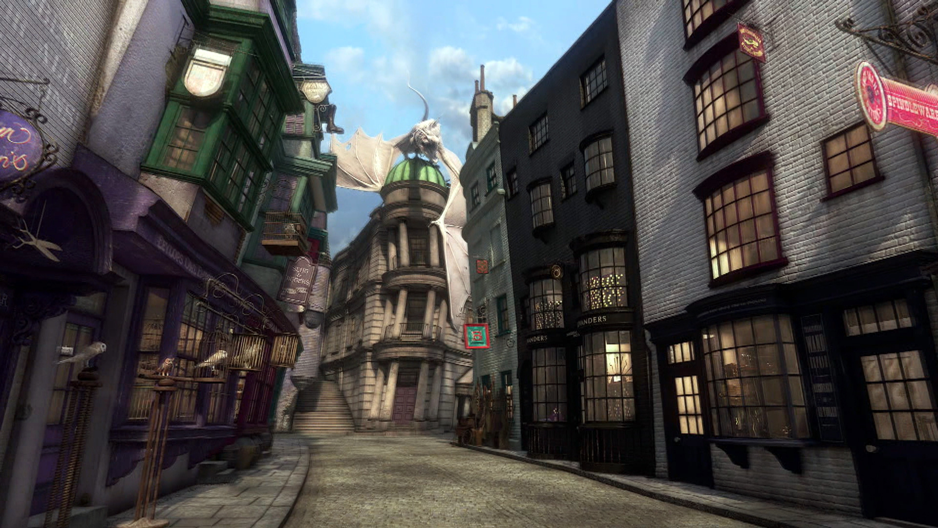 Harry Potter The Making Of Diagon Alley Part 1 Nbc News