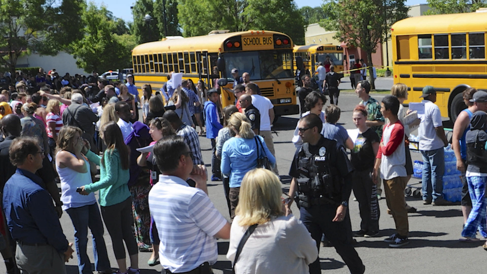Oregon High School Shooting Leaves Two Dead: Police