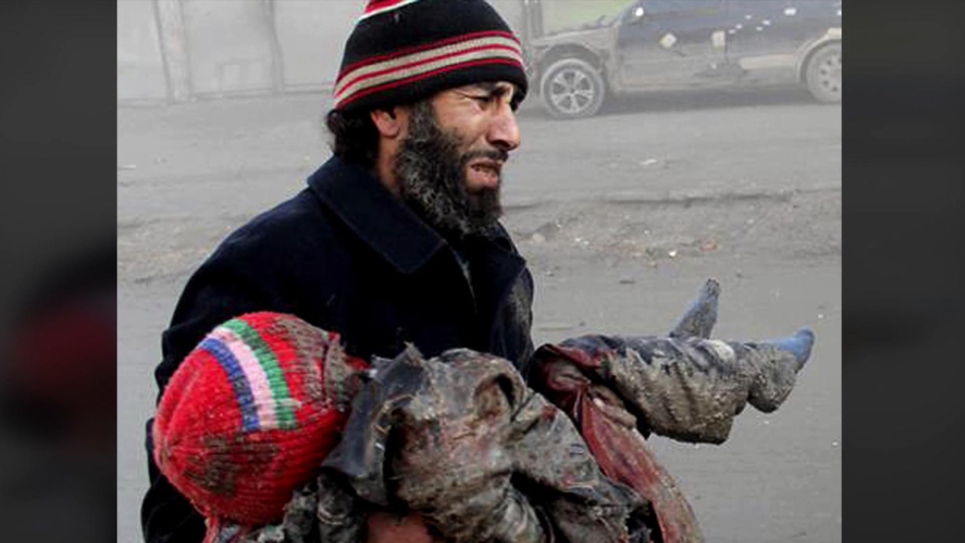 Barrel Bombs Terrorize Syrians Nbc News