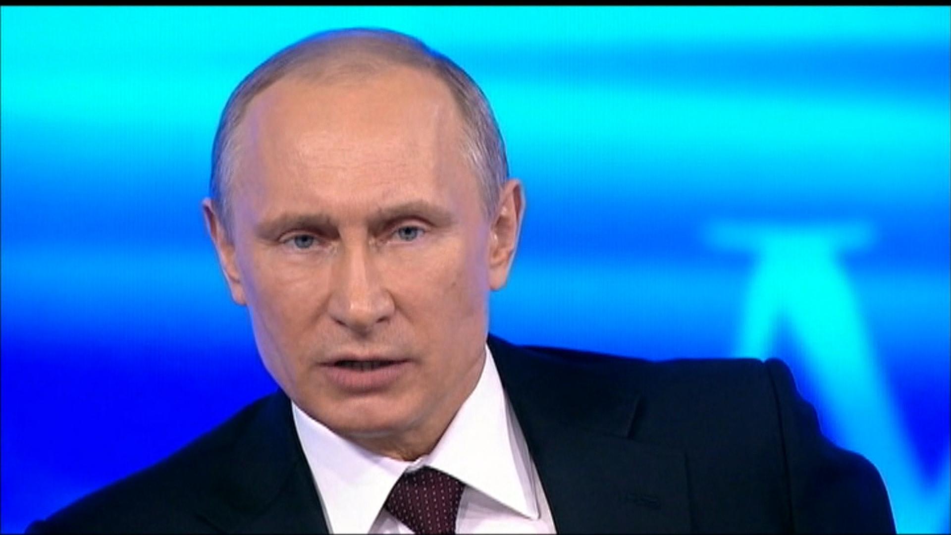Портрет Путина Владимира Владимировича с высоким ...