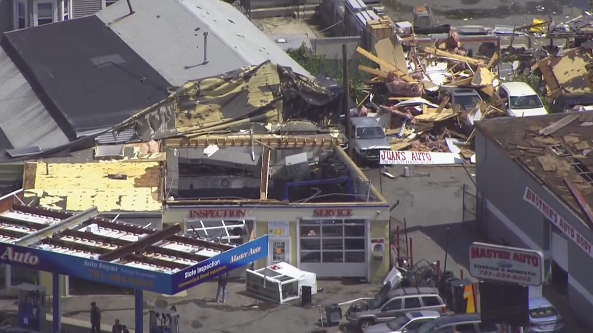 Severe Weather Brings Rare Tornado and Lightning Strikes