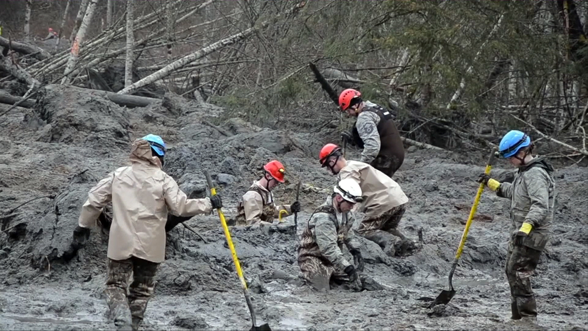 Double-Barreled Blow: How the Oso Mudslide Went Down