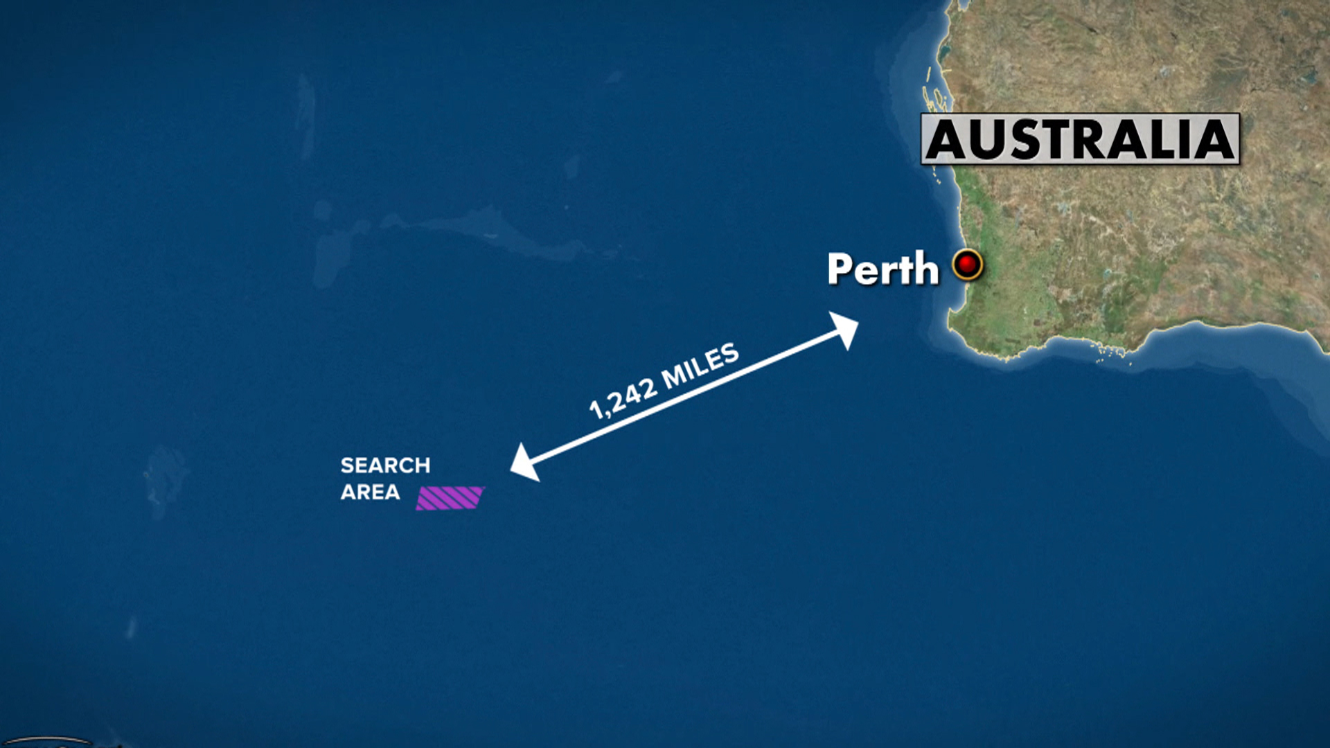 Ten Aircraft Searching Indian Ocean for Signs of Plane