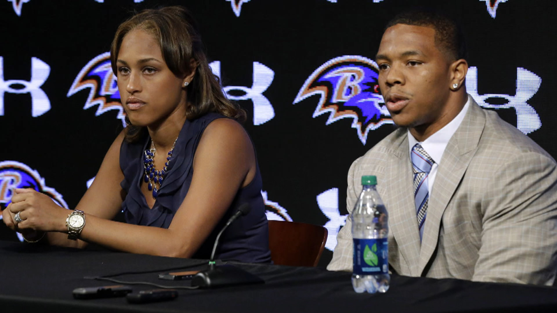 ray rice domestic violence Baltimore ravens running back ray rice has received a two-game suspension from the nfl following his off-season arrest for domestic violence.