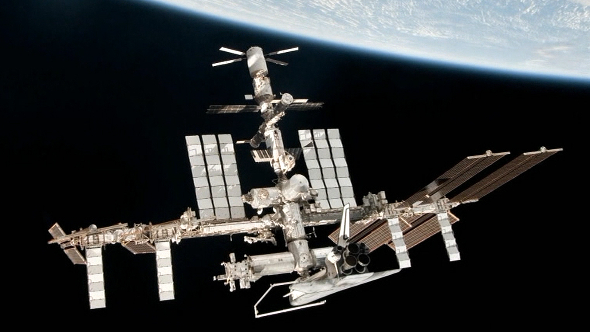 Space station's coolant system crippled, but crew stays safe