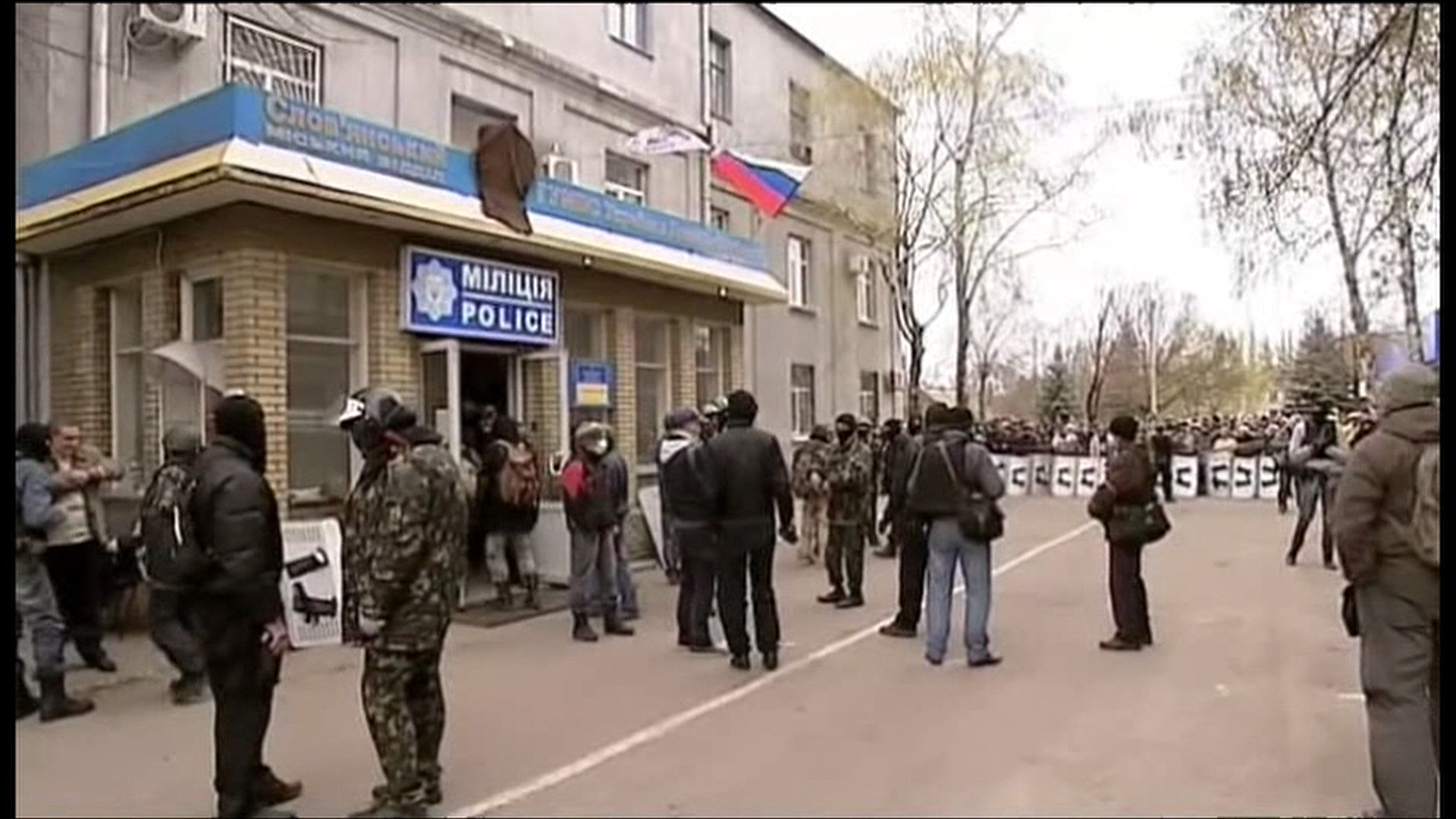 Reports of Casualties as Ukraine Confronts Pro-Russia Rebels