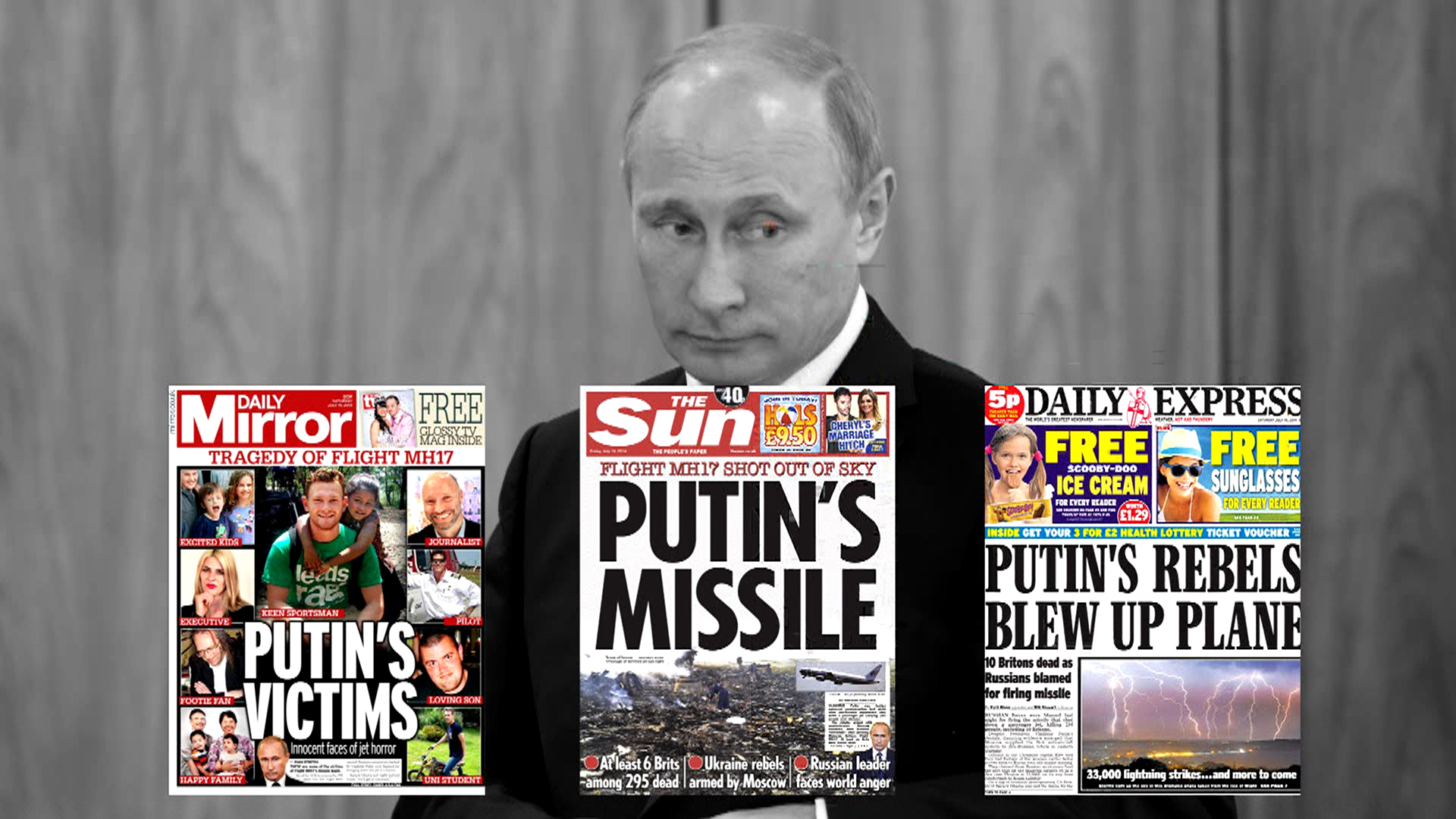 Russian Media Play Down Putin Role in Jet's Downing