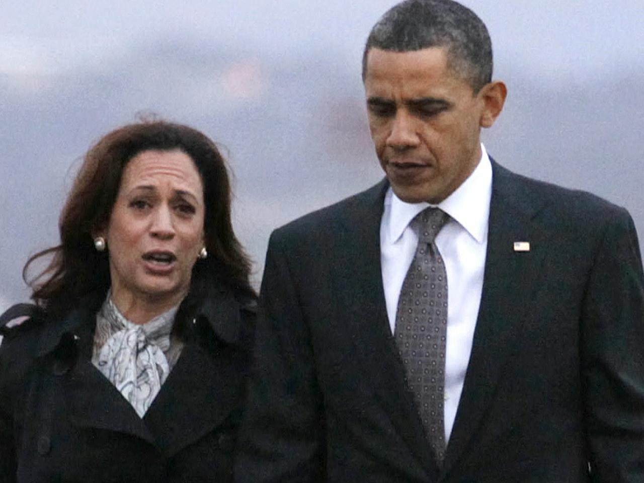 Obama S Kamala Harris Compliment Sparks Criticism