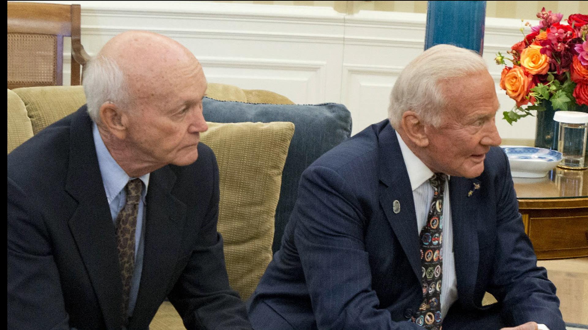 Apollo 11 Plus 45: President Obama Meets With Astronauts