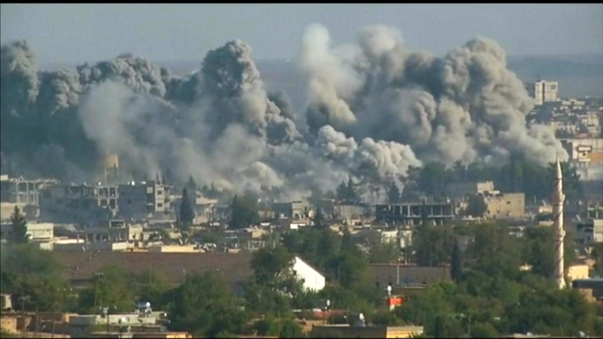Kobani kurds battle isis for control of the region nbc news