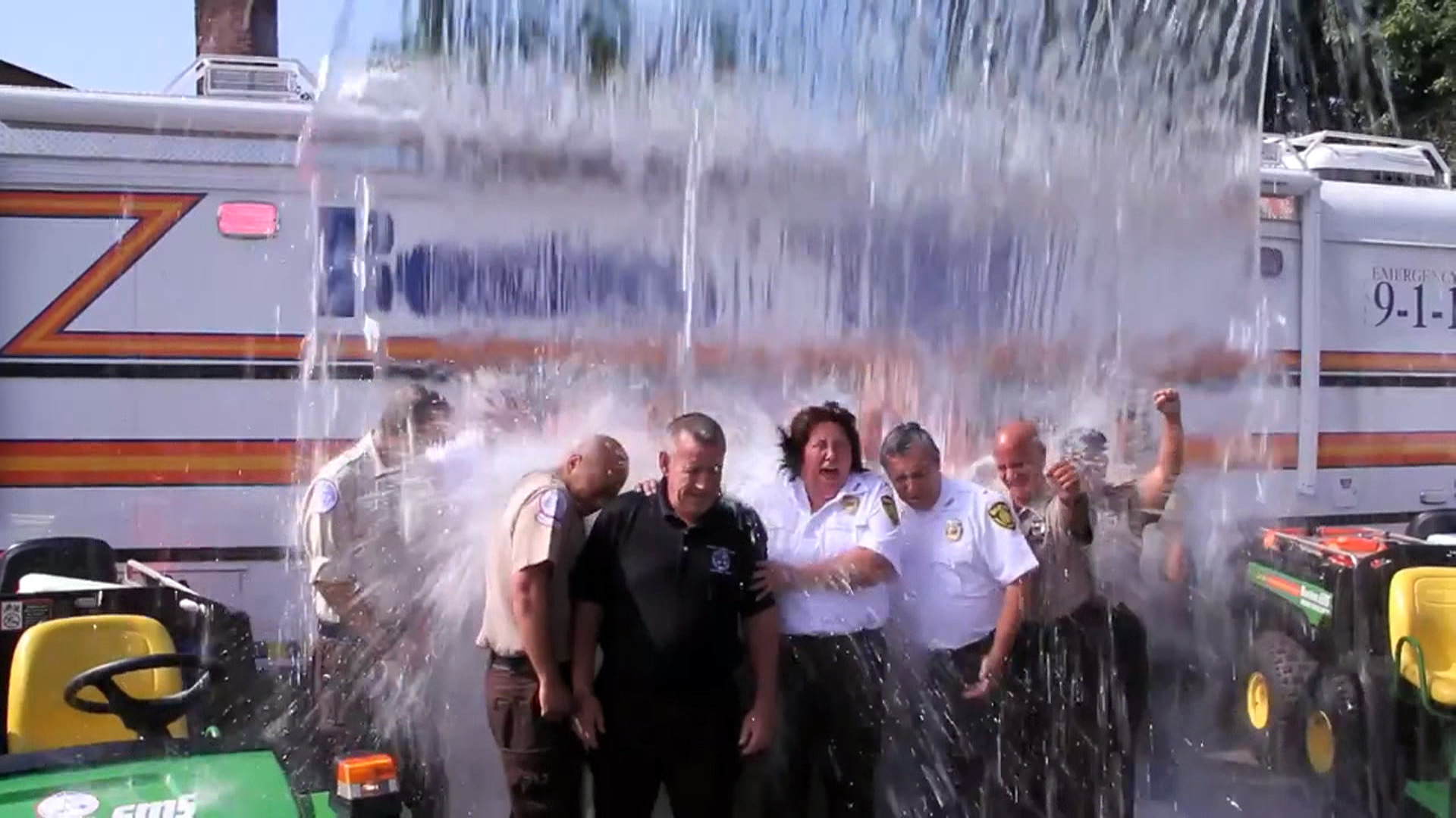 Striking Out ALS: Ice Bucket Challenge Brings Flood of Donations