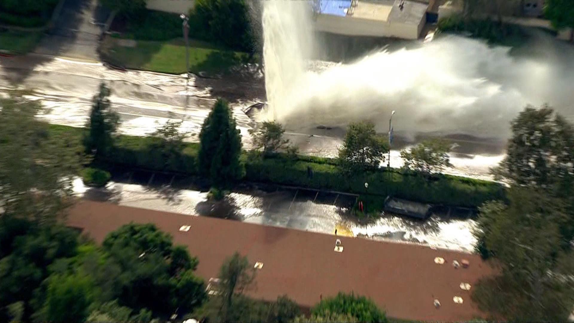 UCLA Water Main Flood Sips Away LA's Shrinking Drinking Supply
