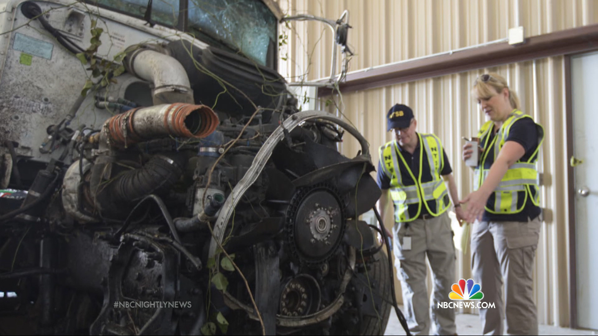 Driver of Semi That Hit Softball Team Bus Said He Was Distracted