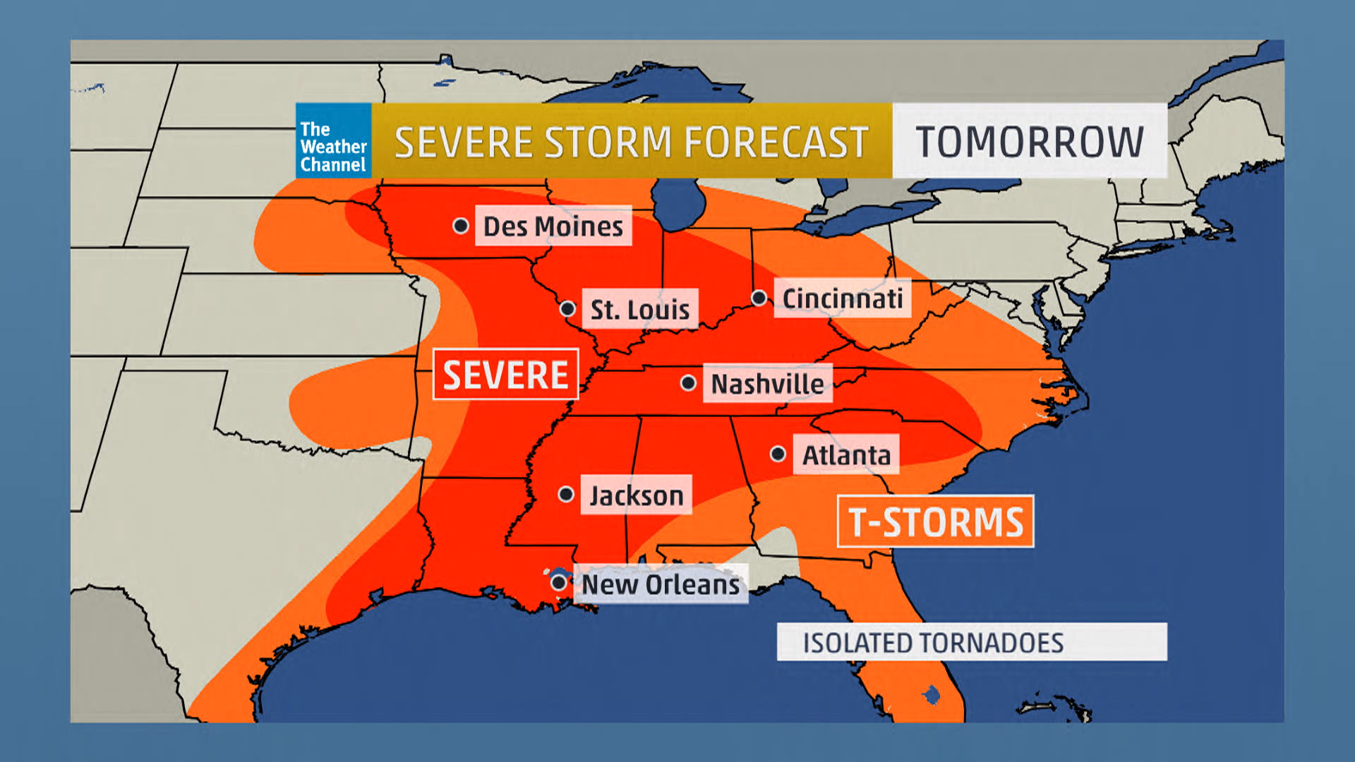 Get the Week's Severe Storm Forecast