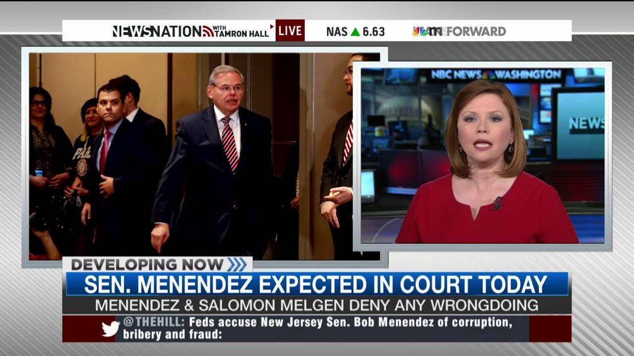 NJ Sen. Bob Menendez faces corruption charges