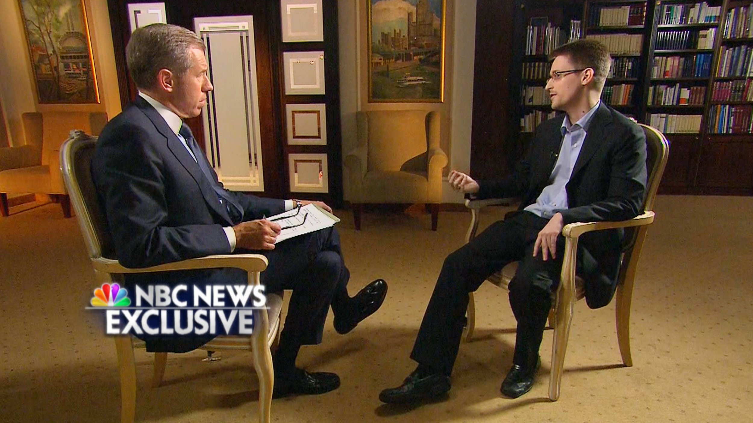 Edward Snowden's Motive Revealed: He Can 'Sleep at Night'
