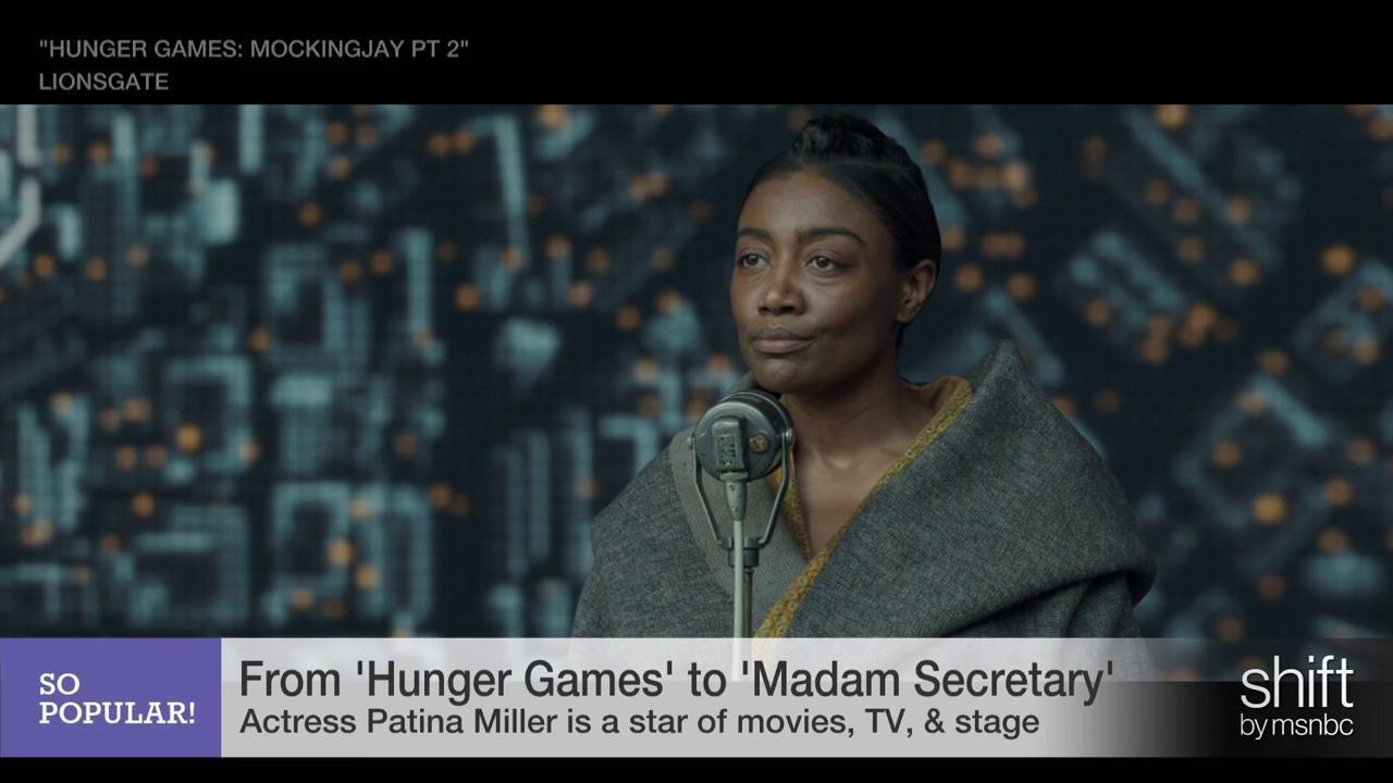Hunger Games star Patina Miller on final film