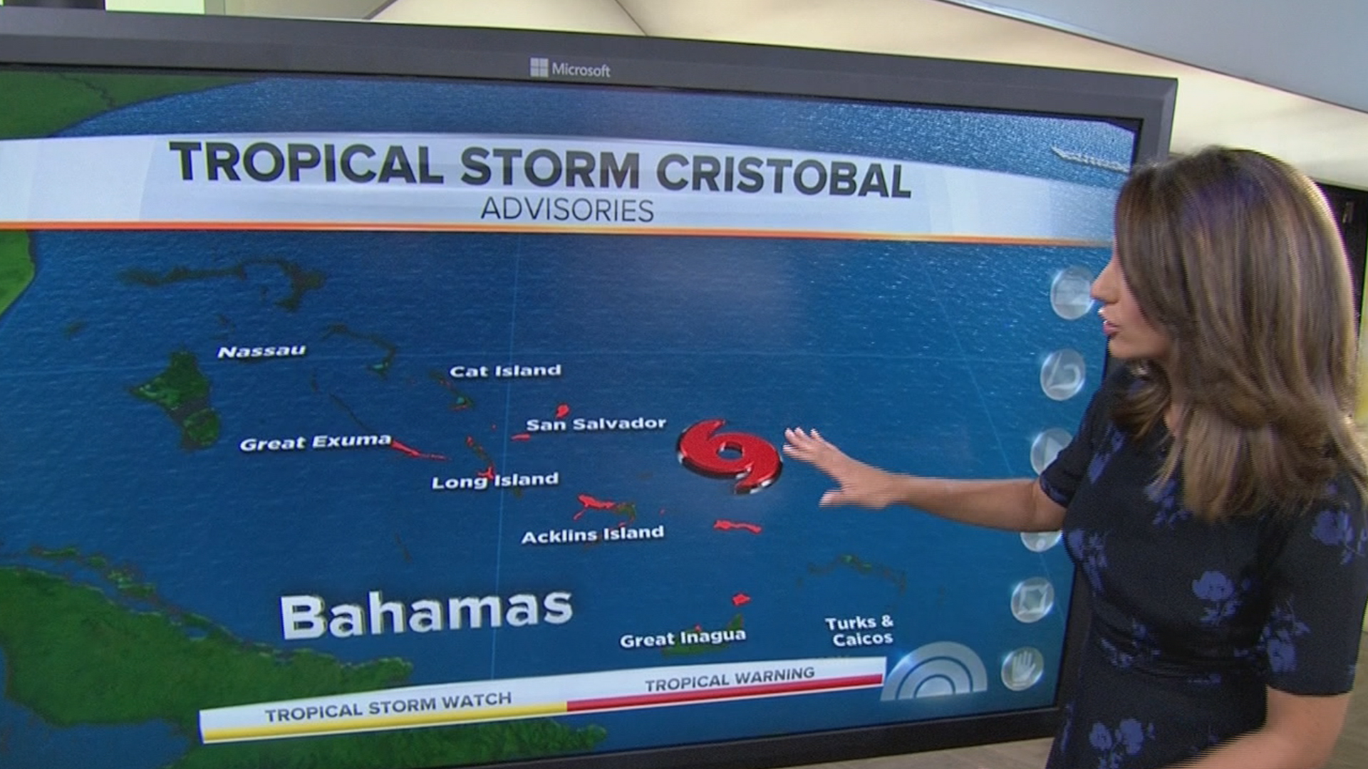 Tropical Storm Cristobal Forms in Atlantic, Aims for Bahamas