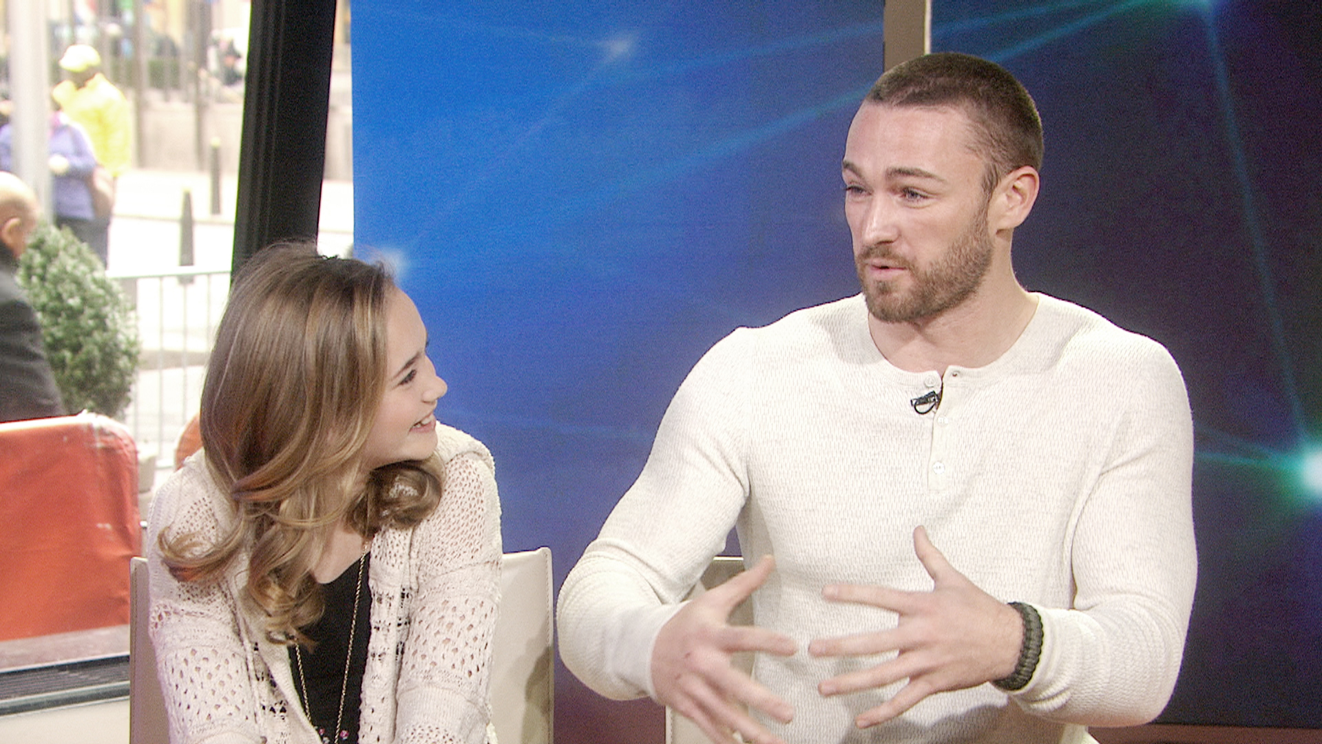 'Believe' stars chat about on-screen chemistry - TODAY.com
