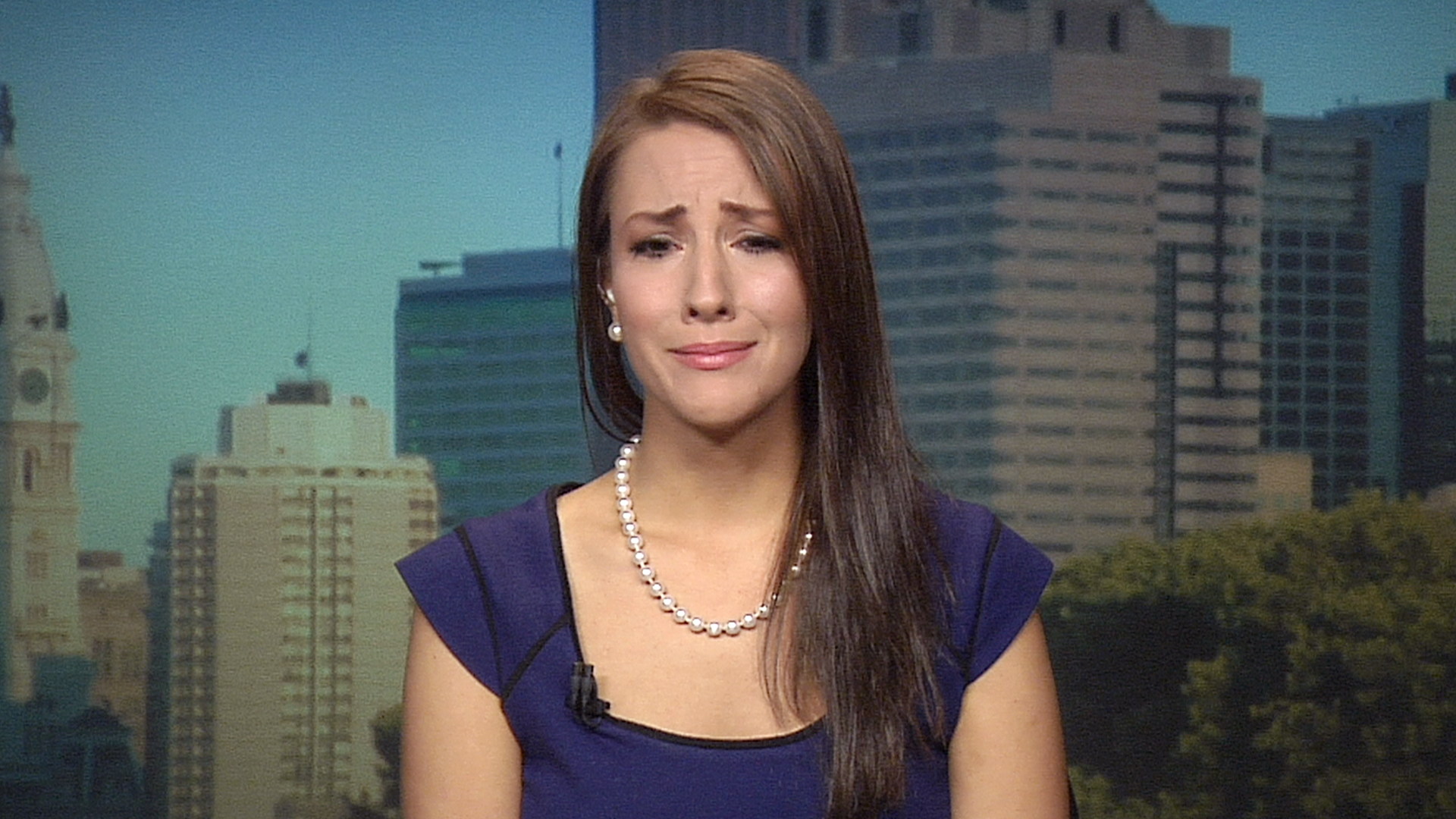 Too Old Miss Delaware Sobs During Today Interview -4770