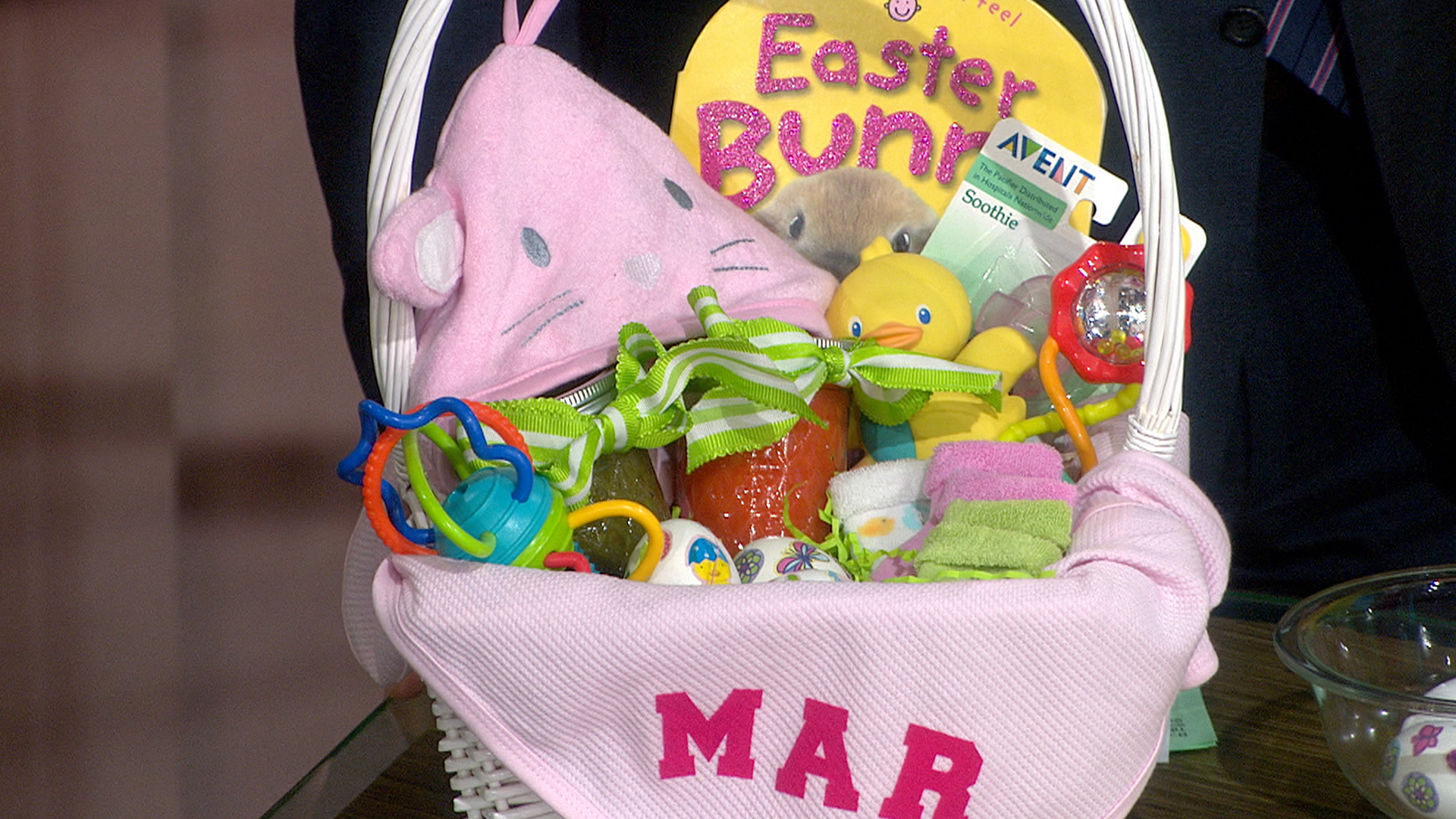 Egg cellent easter baskets for baby today negle Image collections
