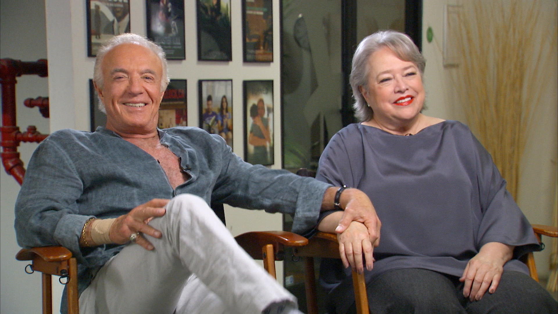 james caan kathy bates reunite 25 years after �misery