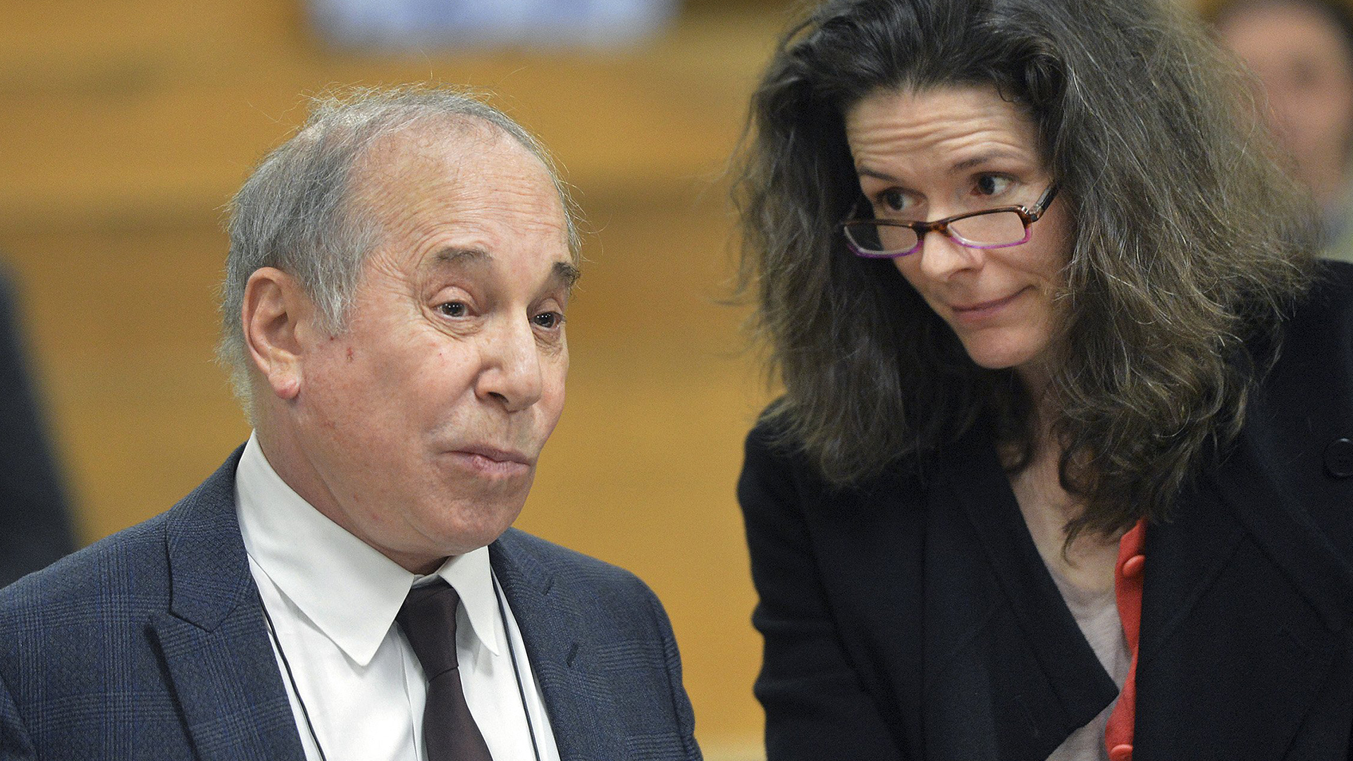 Paul Simon And Wife Appear In Court Following Disorderly