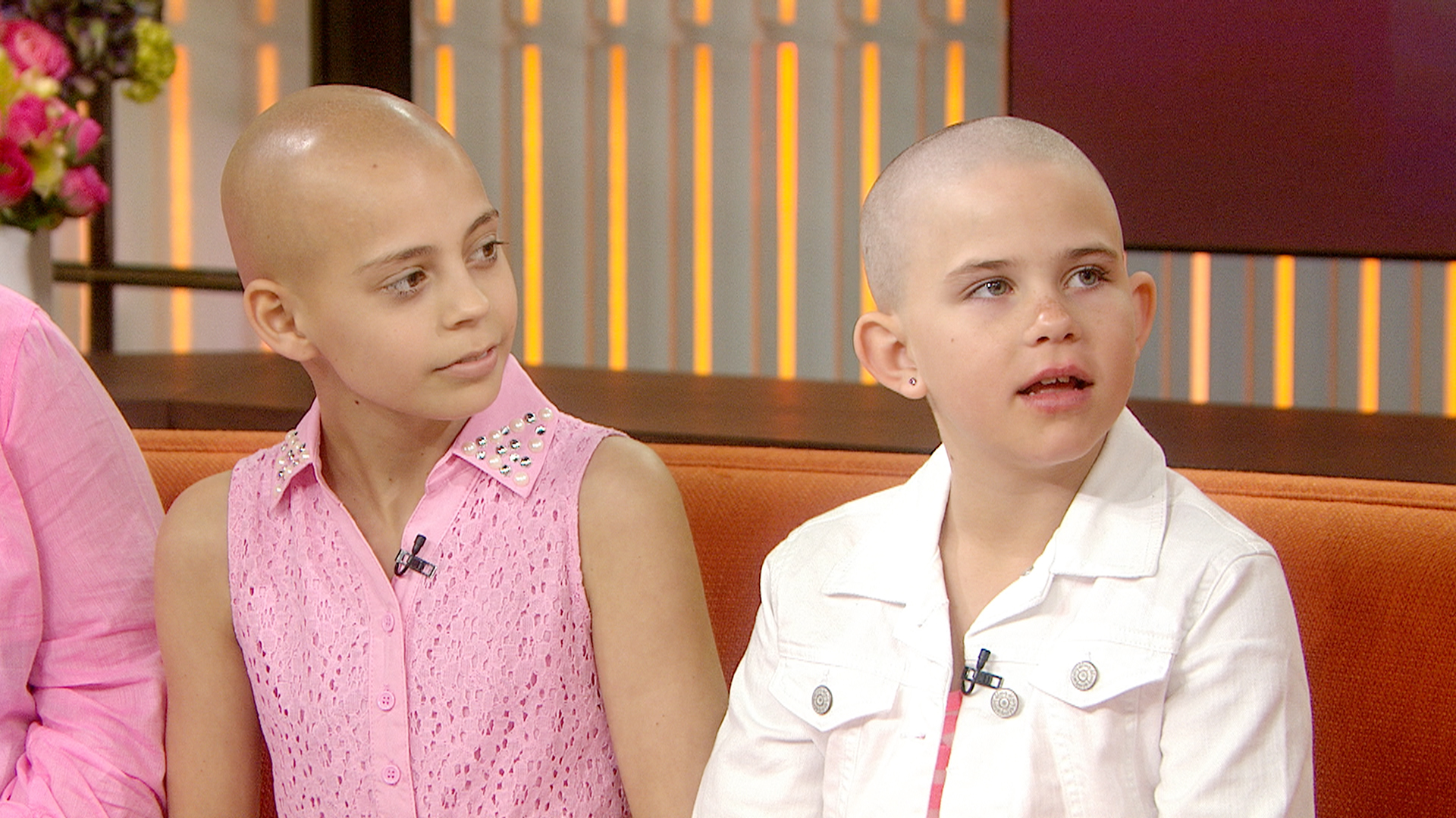 This 9-Year-Old Girl Shaved Her Head to Support Mom During Cancer Battle
