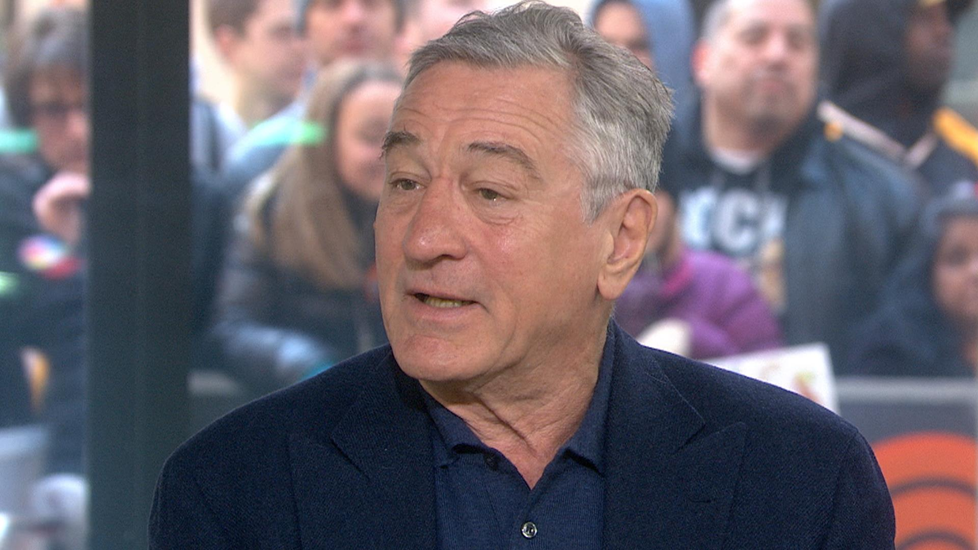 Robert De Niro on anti...