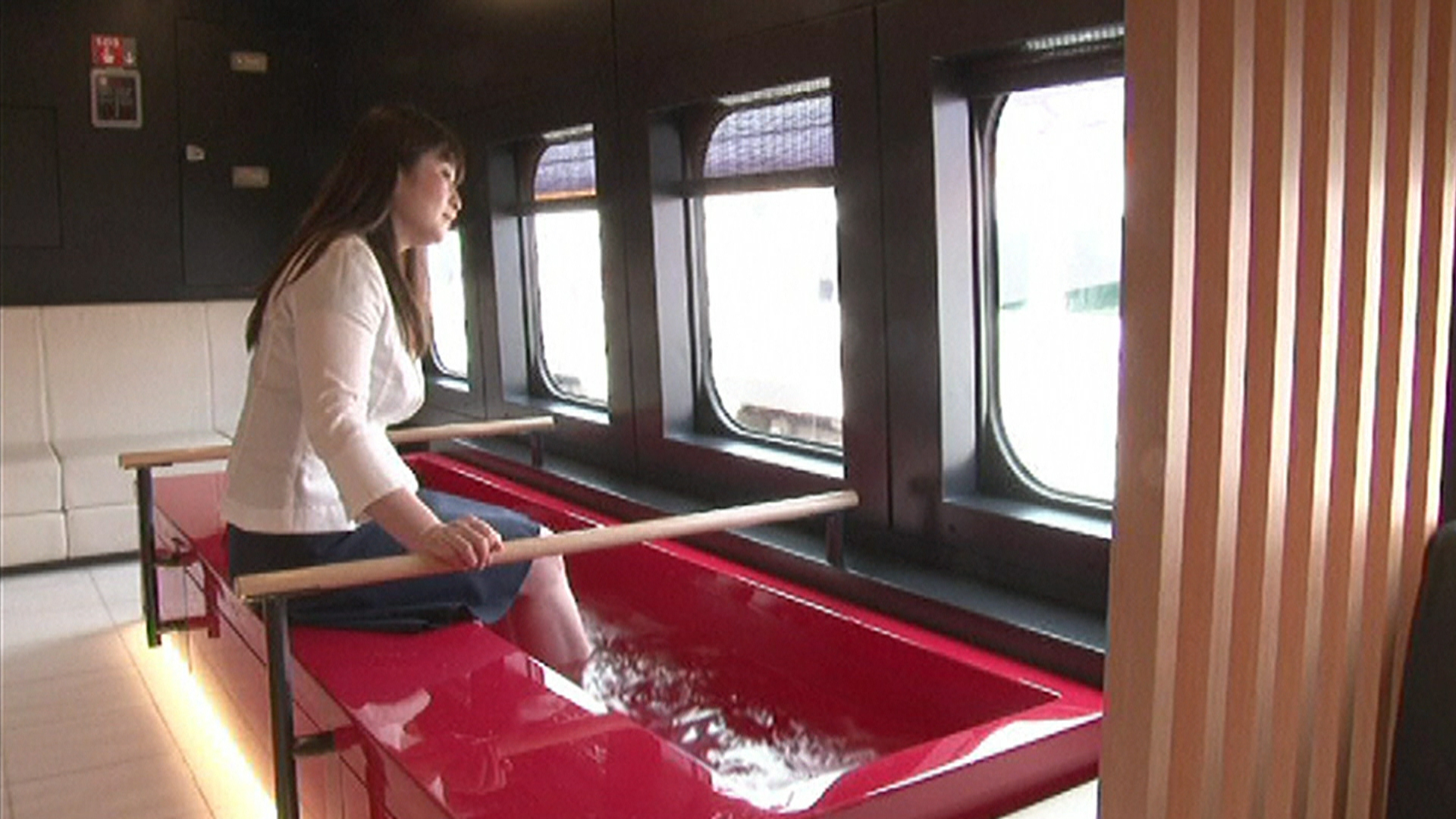 Japanese Bullet Train Features Foot Baths Today Com