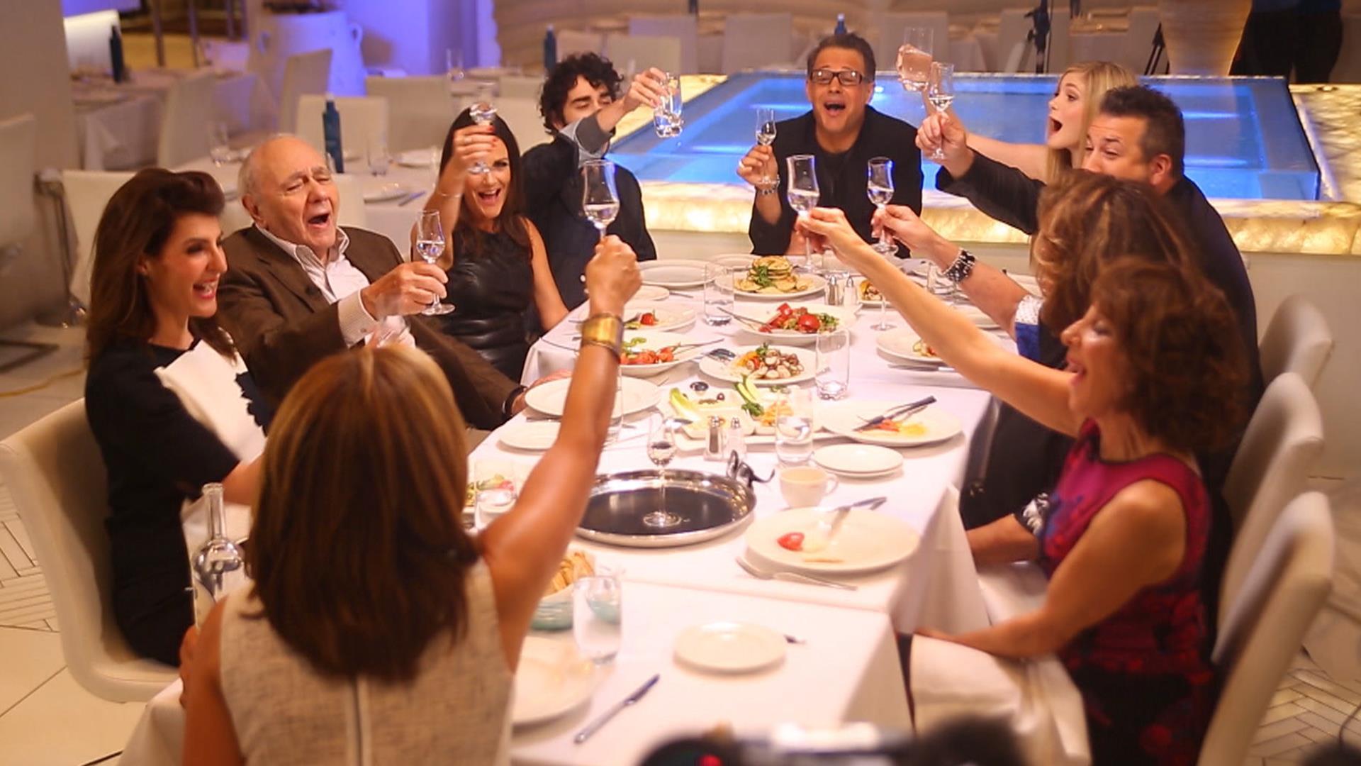 My Big Fat Greek Wedding Cast.The Cast Of My Big Fat Greek Wedding 2 Joins Hoda For Dinner See The Fun