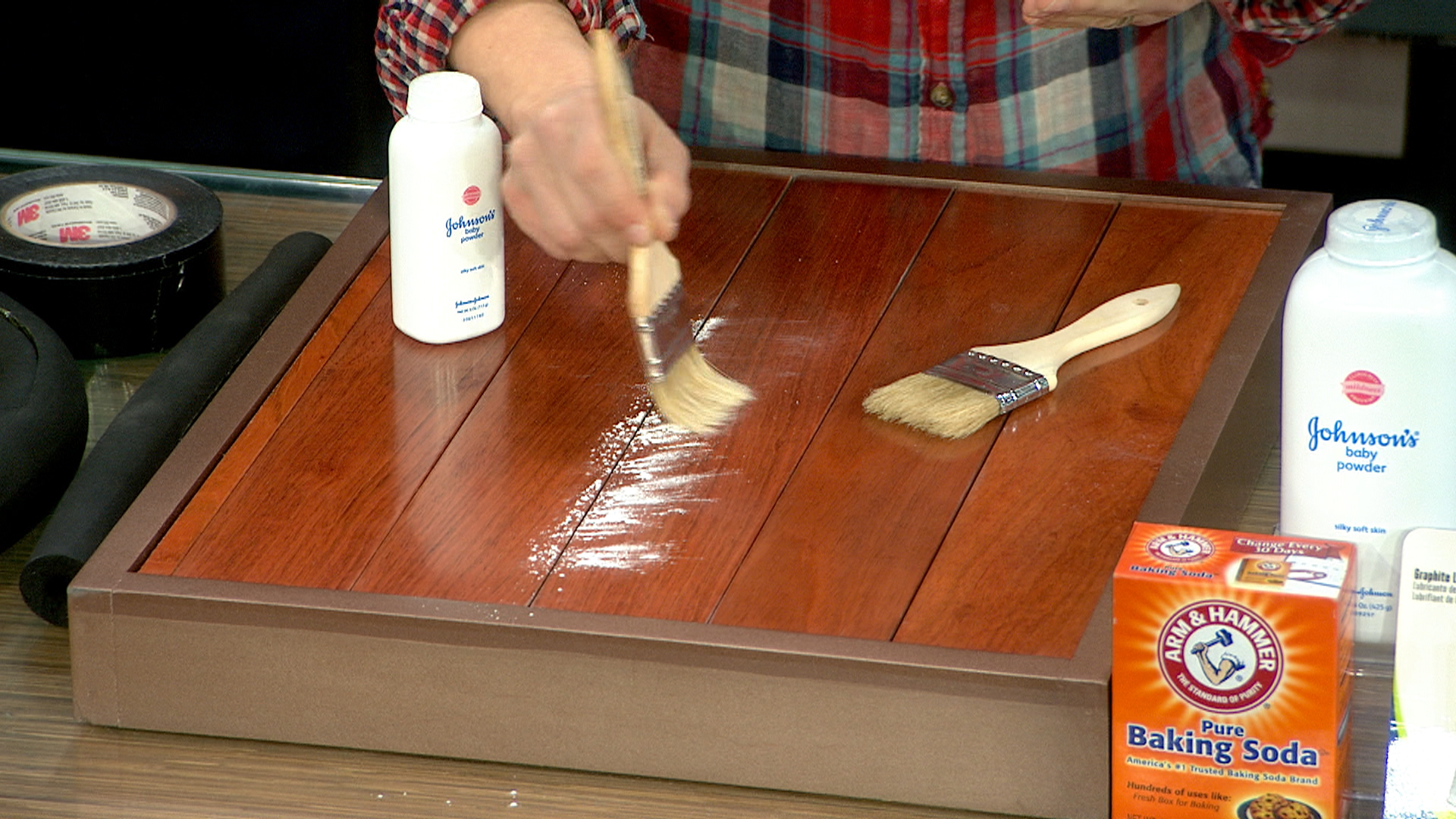 Use Baby Powder To Fix A Creaky Floor Today Com