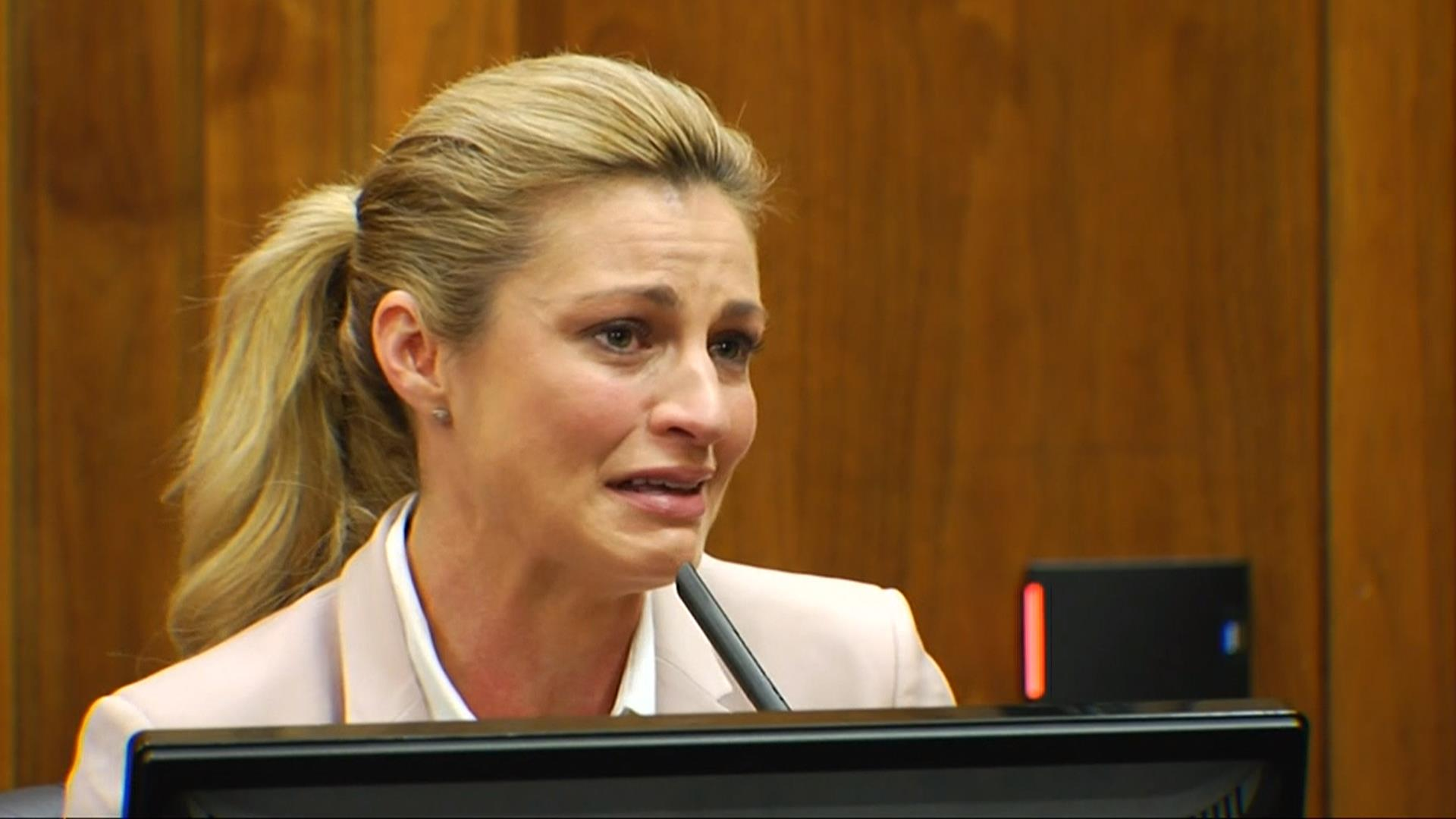Erin Andrews Talks Relationships, Career During Second Day -8885