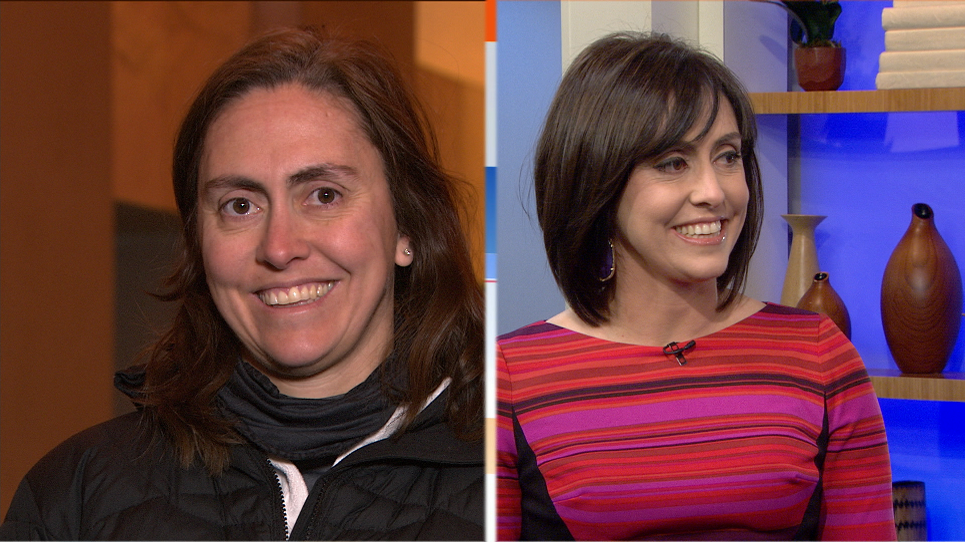Caveman Makeover On Today Show : Ambush makeover daughters stunned by stylish mom today