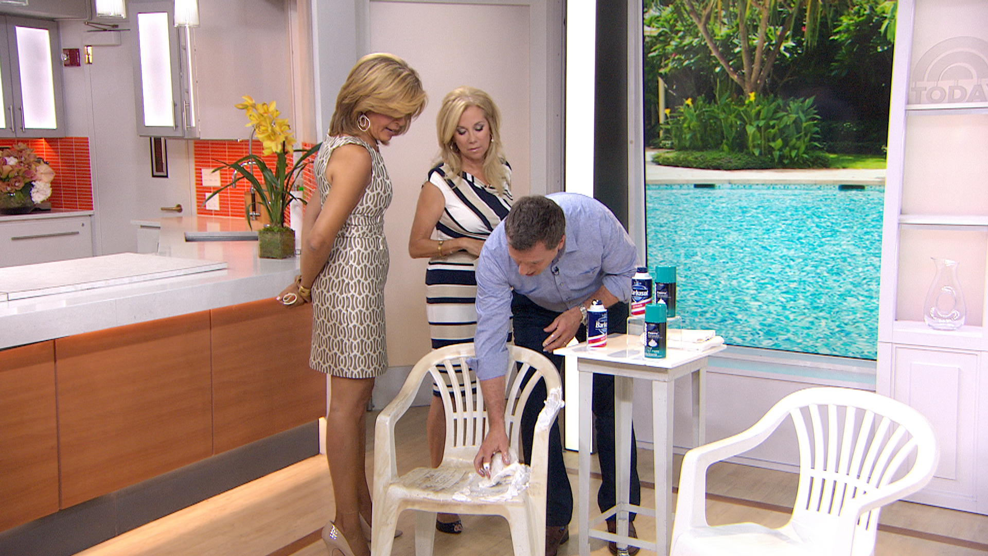 How to clean grill grates stained patio furniture and