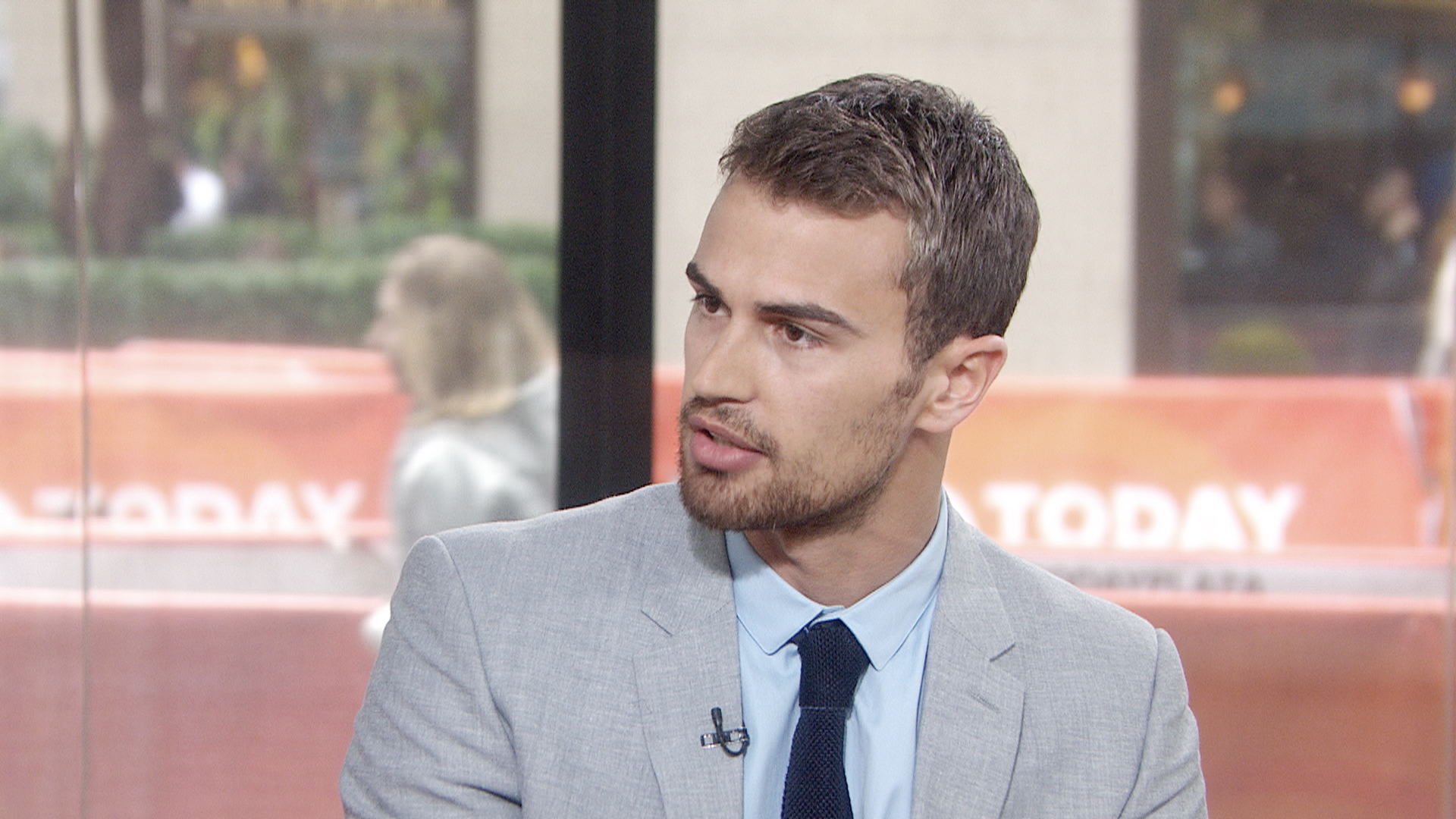 Divergent Star Theo James On His Short Stint Downton Abbey