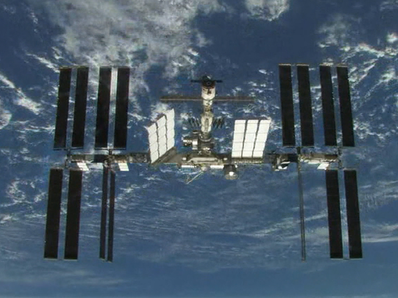 Space station leaking vital coolant above Earth - TODAY.com