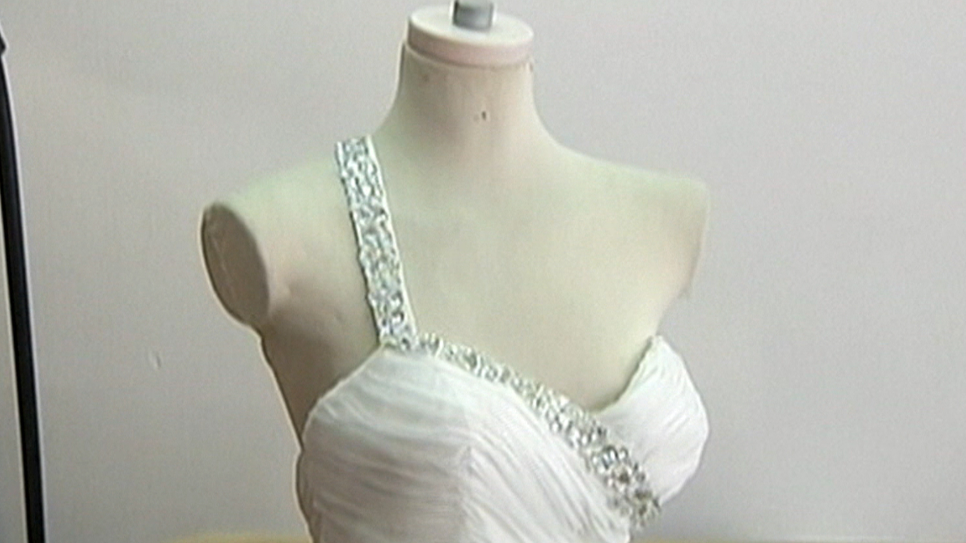 Wedding dress lost in hurricane sandy recovered nearly 2 for Wedding dress dry cleaning near me