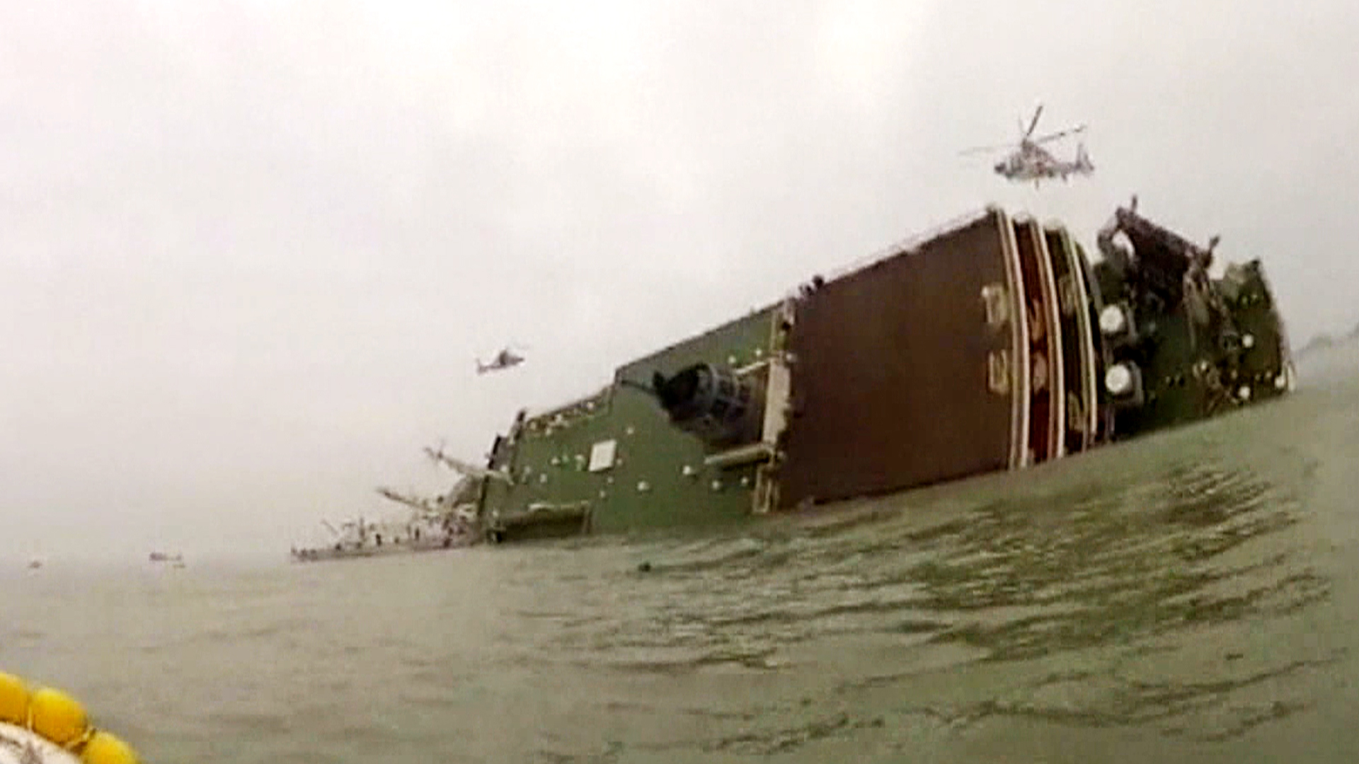 South Korea Ferry Crew: We Were Ordered to Abandon Sinking Ship