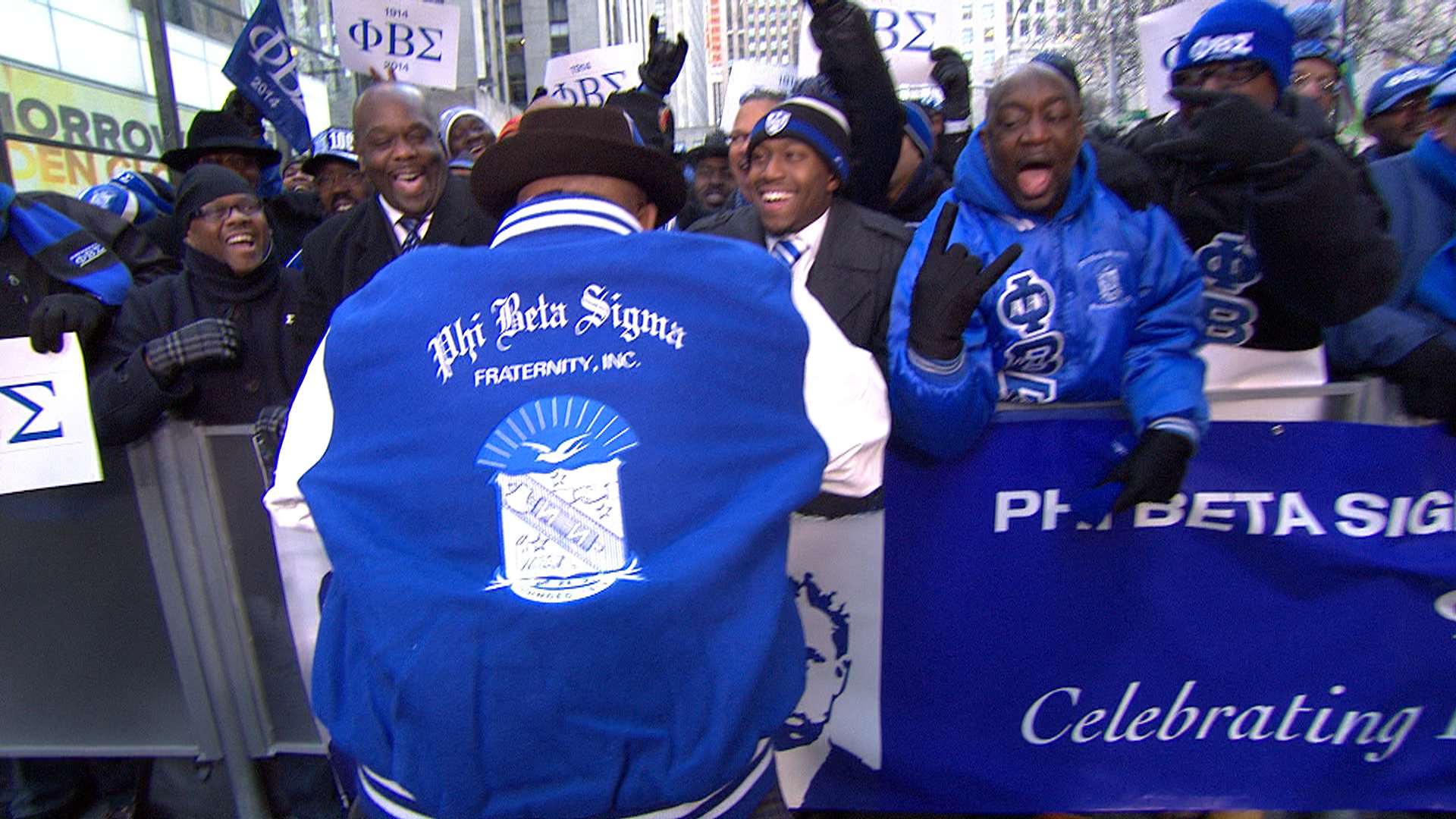 Al Roker gets special jacket from fraternity - TODAY.com