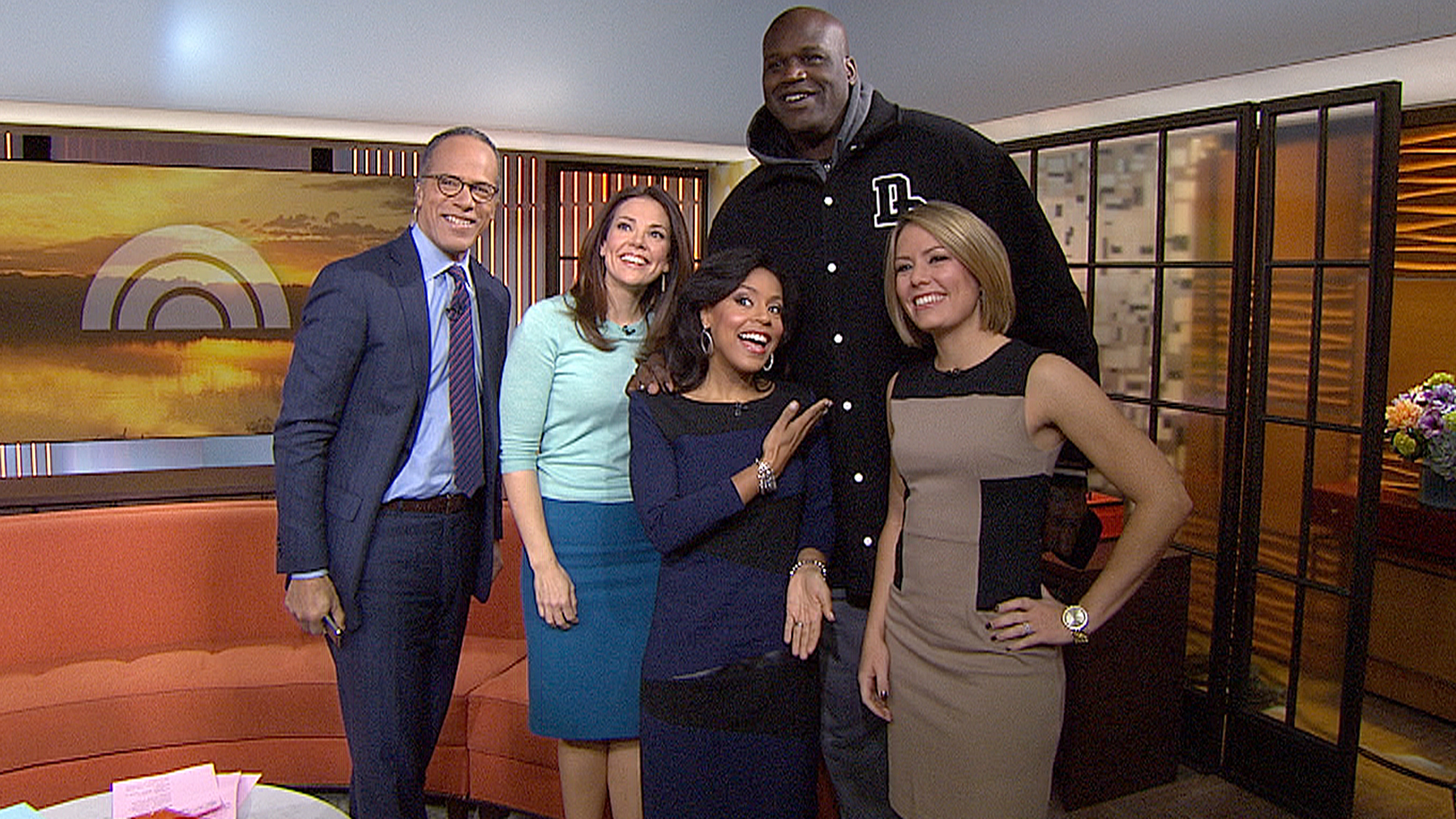 Shaq Surprises The Today Anchors Today Com