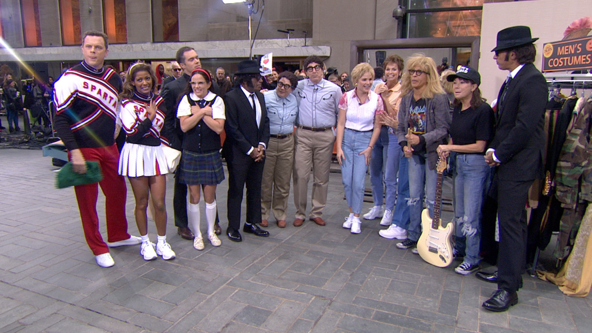 see today show's ' 'saturday night live' halloween costumes for 2014