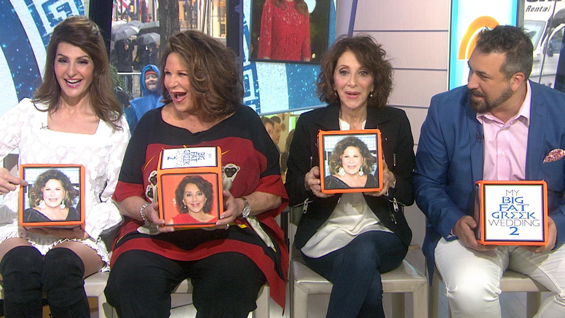 My Fat Greek Wedding 2 Stars Reveal Who Made The Most Bloopers Nbc News