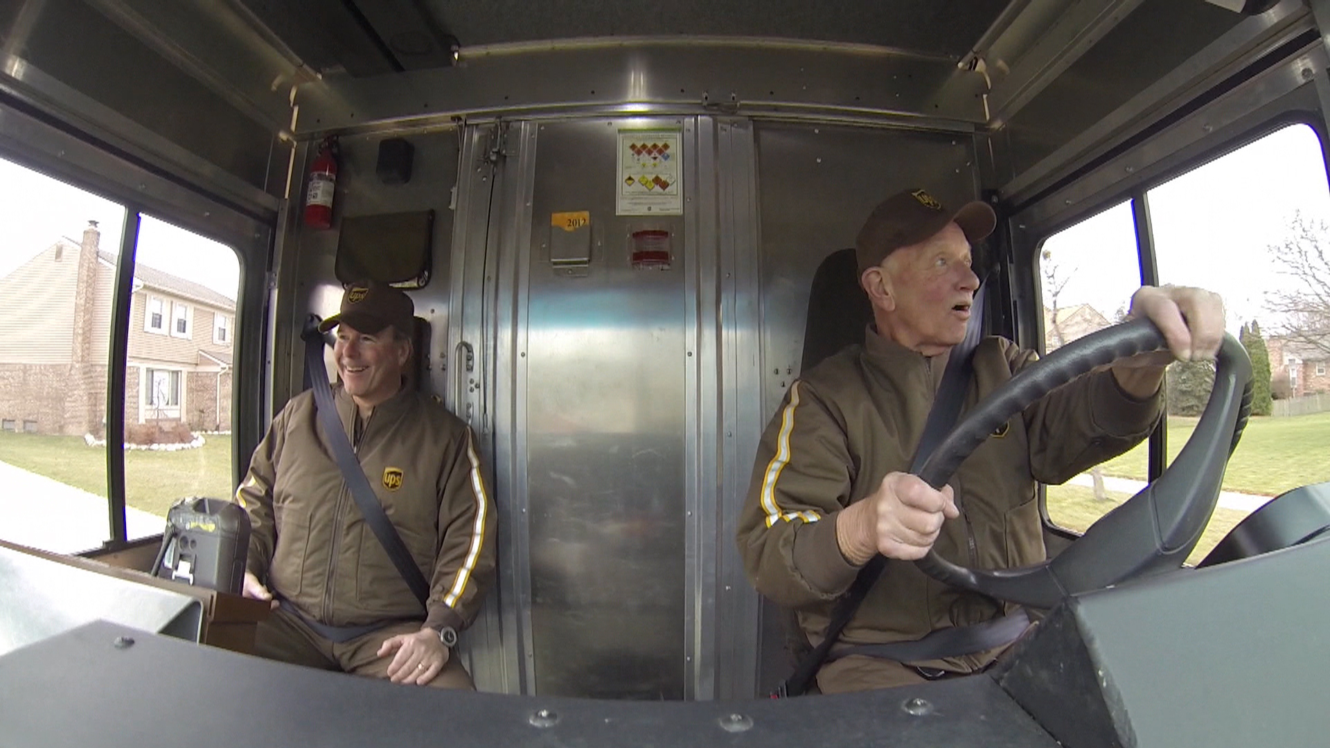 UPS driver delivers 51 years of accident-free packages ...